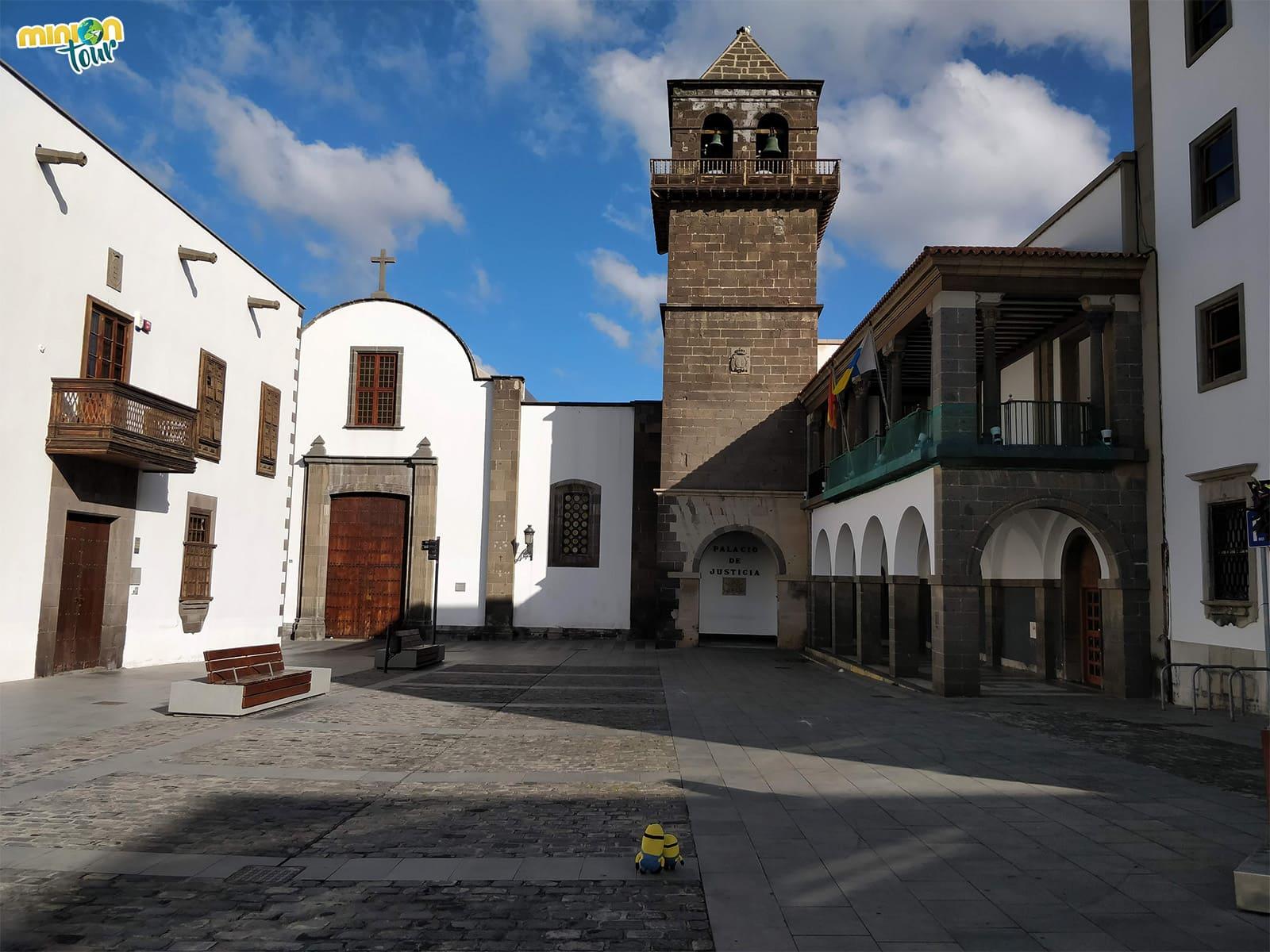 Plaza de San Agustín en Vegueta