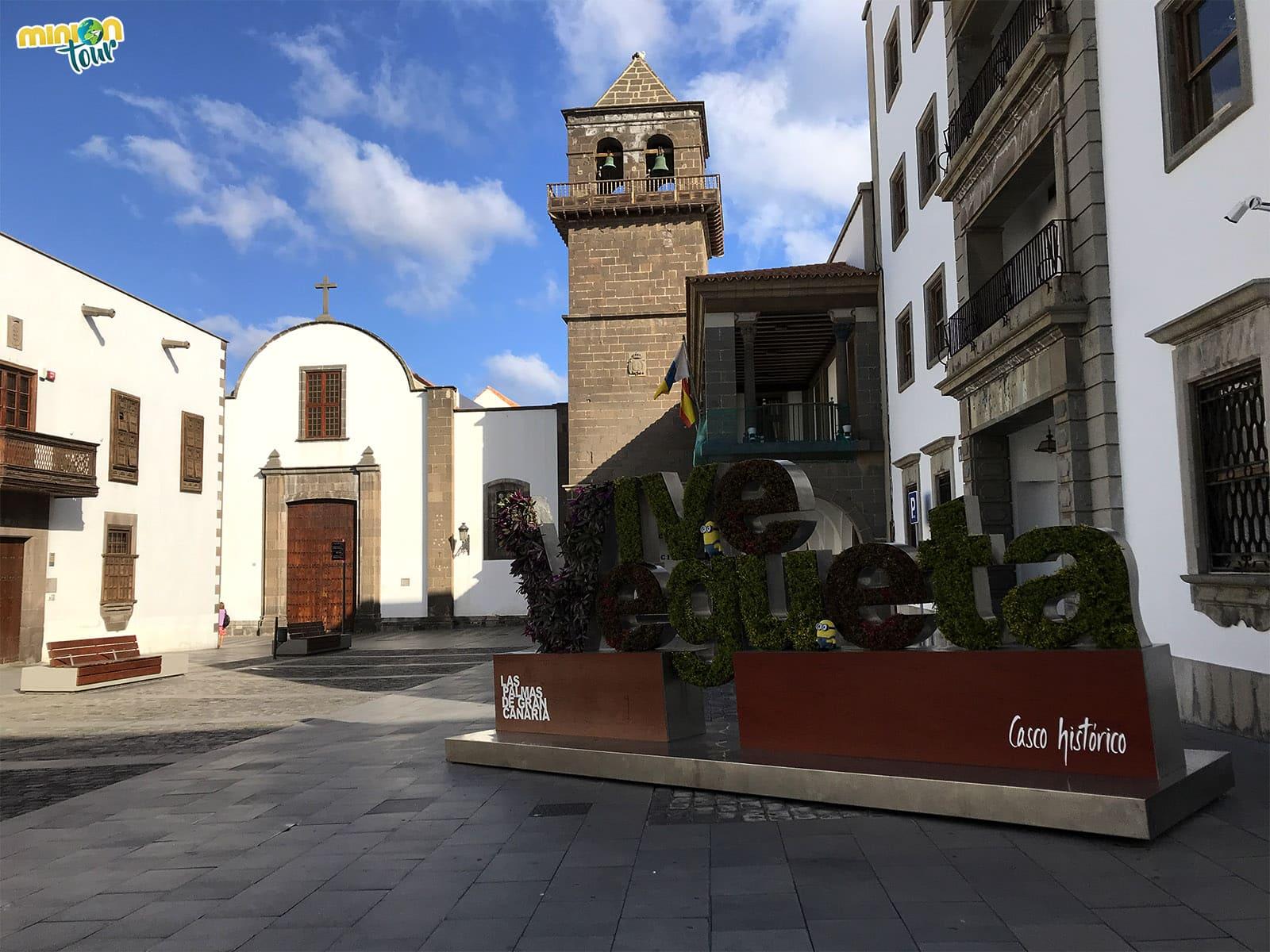 La Plaza de San Agustín, una de las cosas que ver en Vegueta