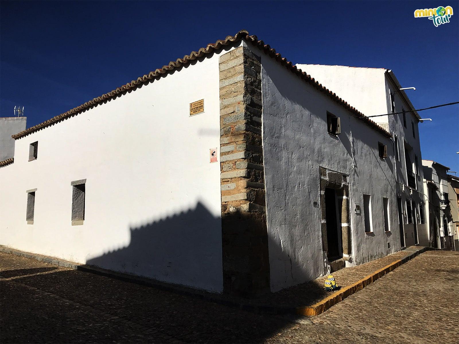 Hemos encontrado la casa del Alcalde de Zalamea