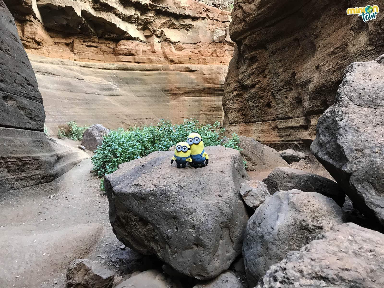 El Antelope Canyon de Gran Canaria no es el Barranco de las Vacas