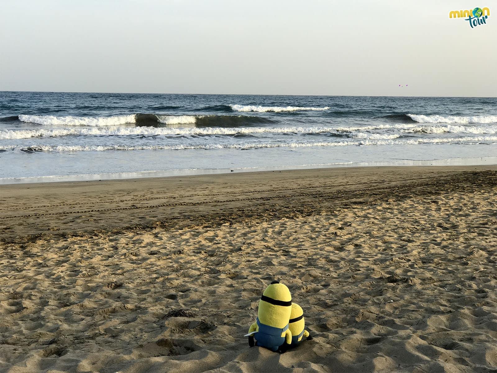 La Playa del Inglés en Gran Canaria