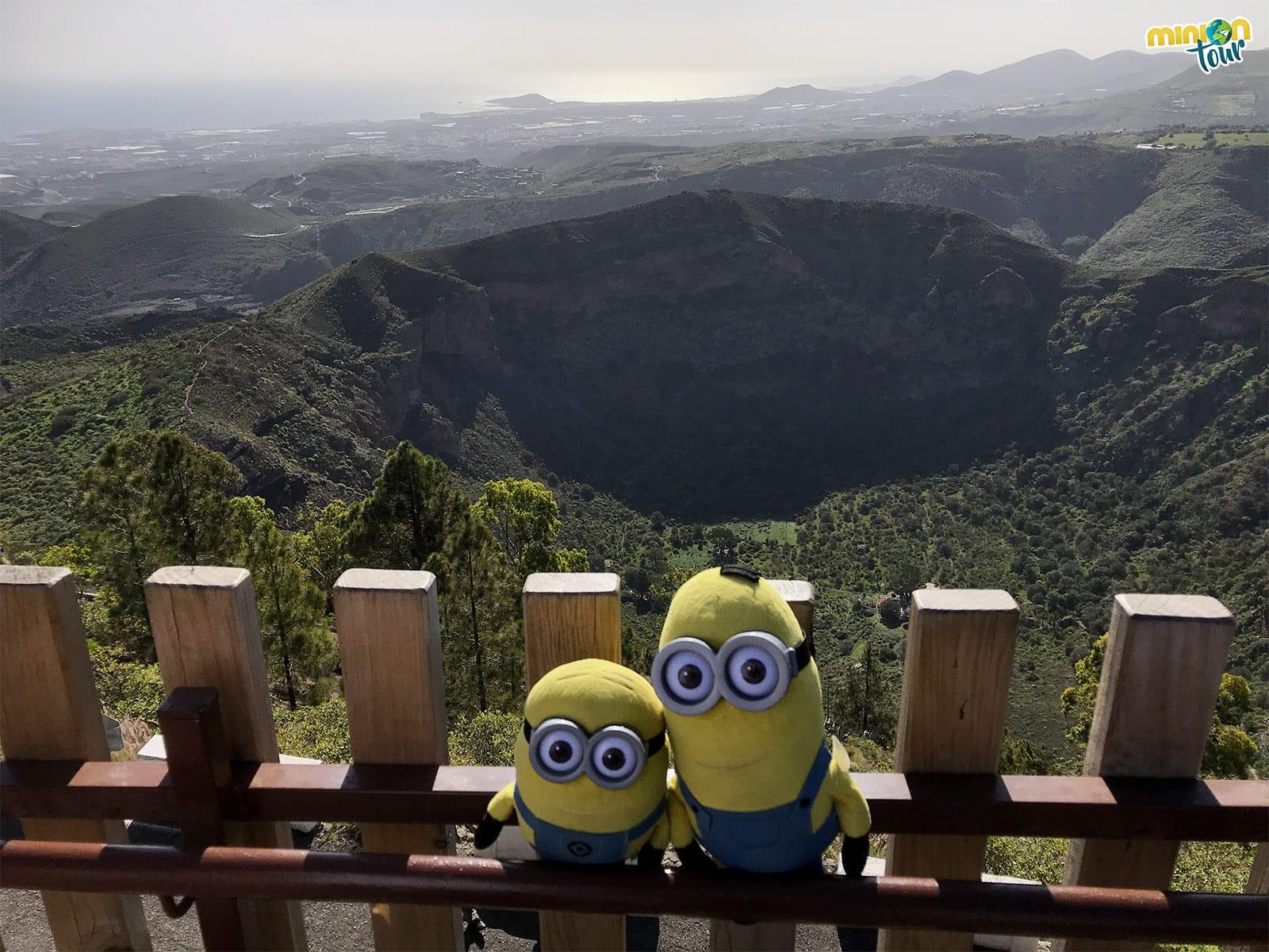 Caldera de Bandama, uno de los lugares que ver cerca del aeropuerto de Gran Canaria