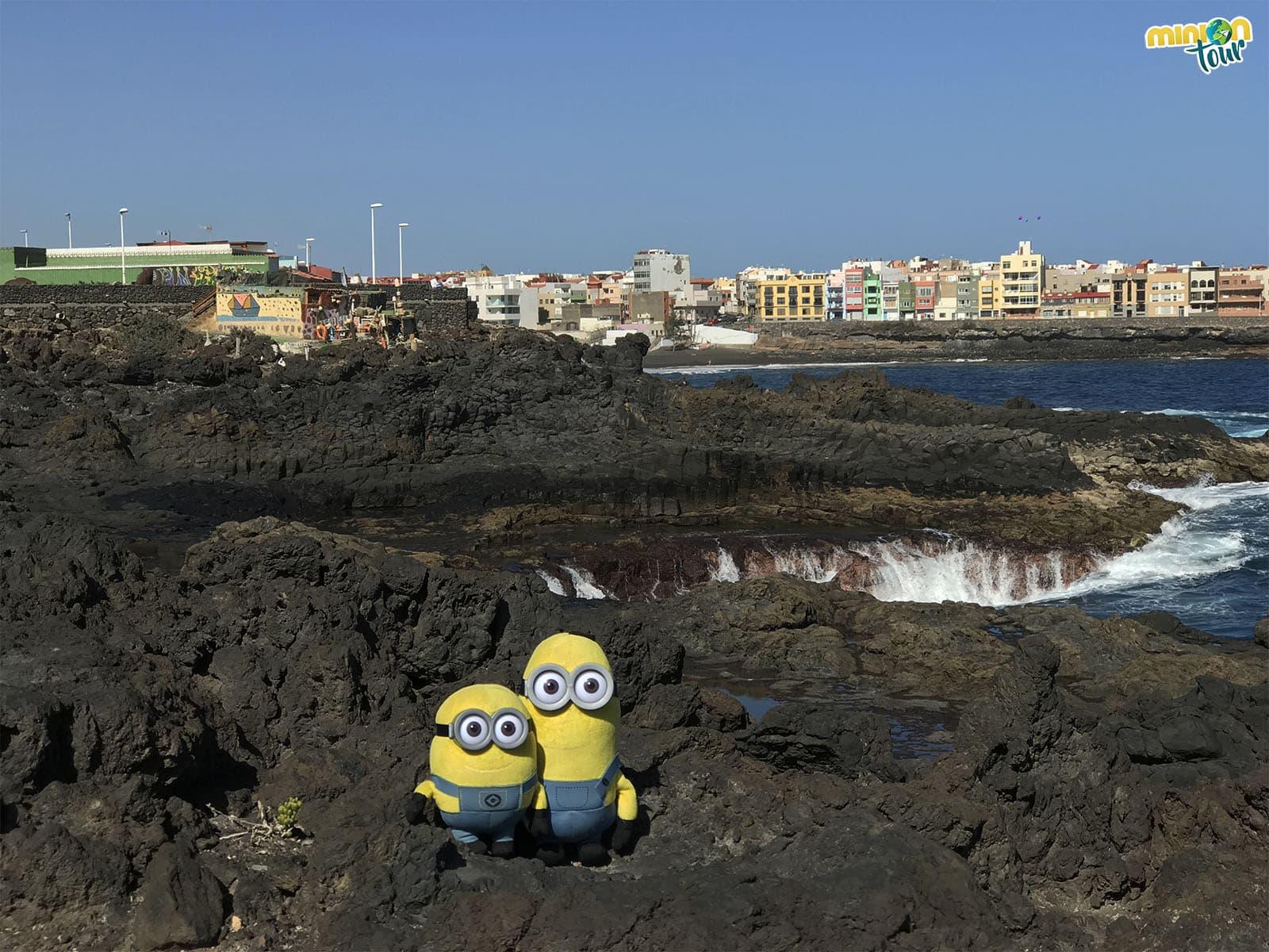 Vista de La Garita, en Gran Canaria