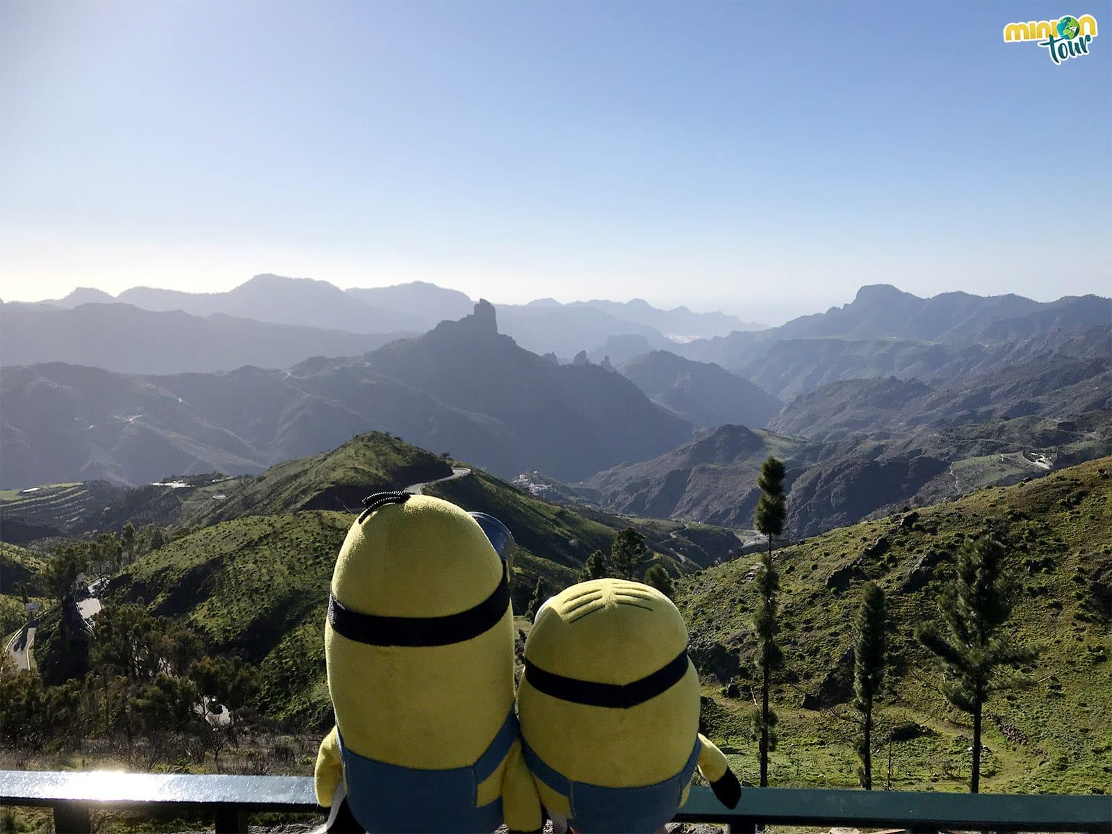 Uno de los sitios chulos de Gran Canaria es la Cruz de Tejeda