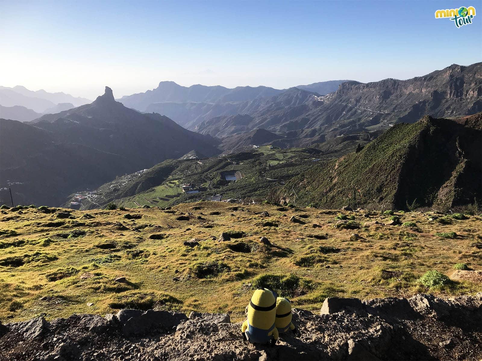 Mirador de la Degollada de la Becerra, otro de los sitios chulos de Gran Canaria