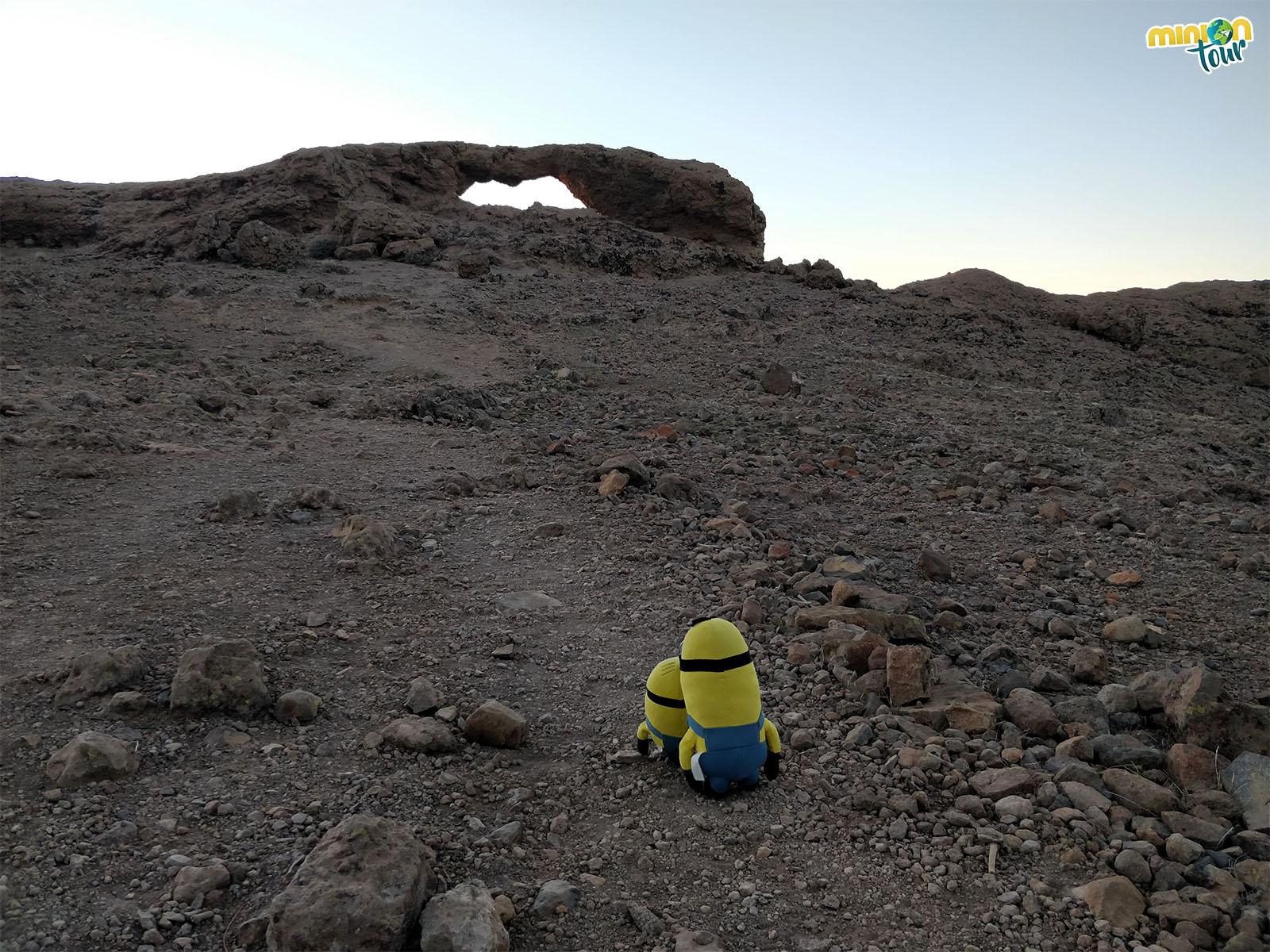 Camino a la Ventana del Nublo