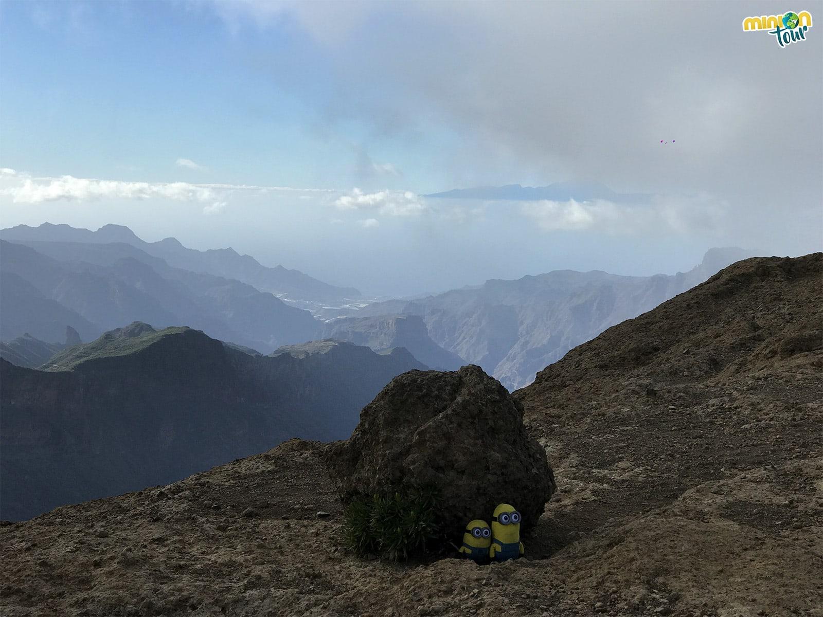 El Mirador del Roque Nublo es uno de los mejores miradores de Gran Canaria