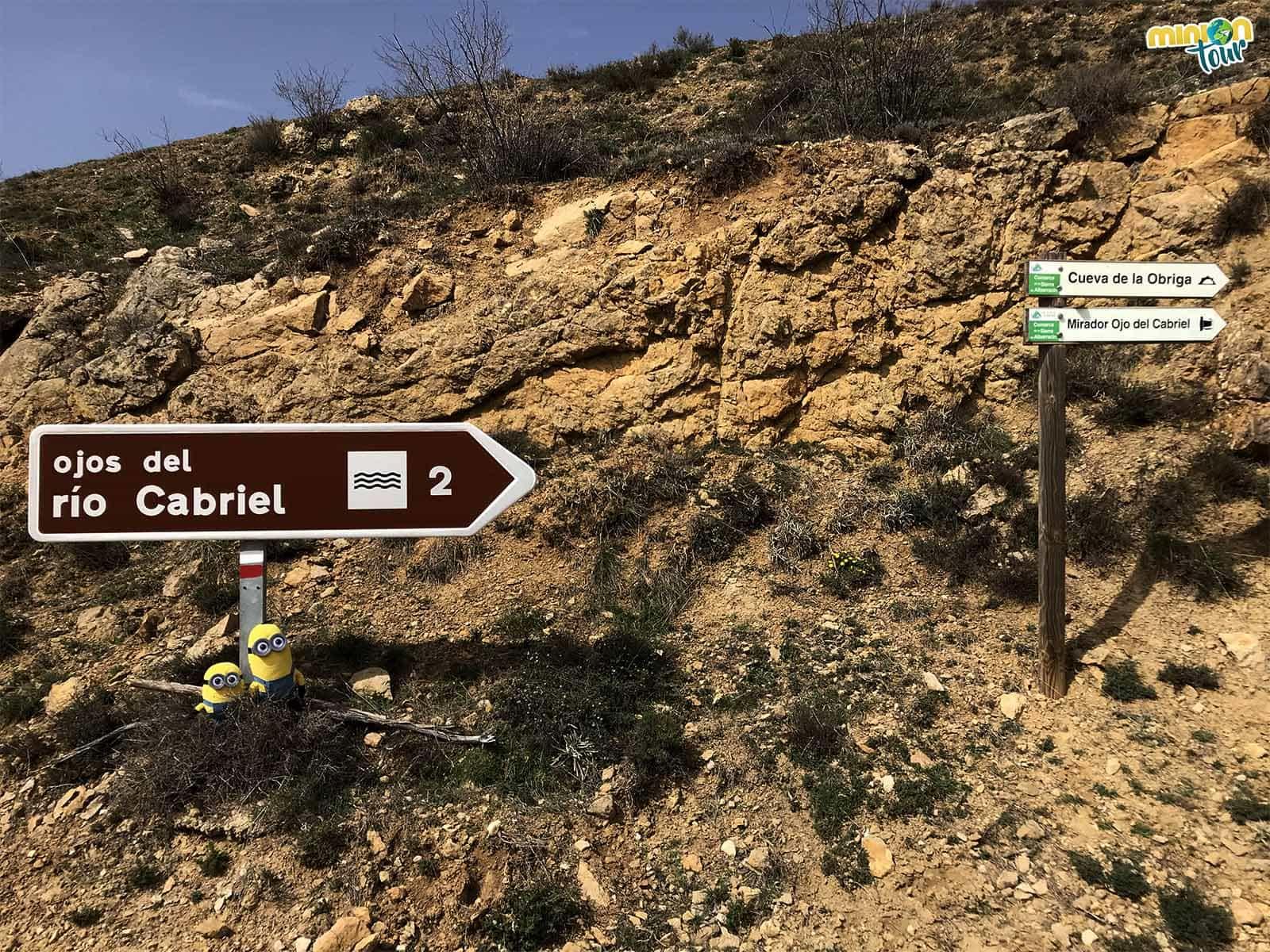 Empezamos la ruta a los Ojos del Cabriel