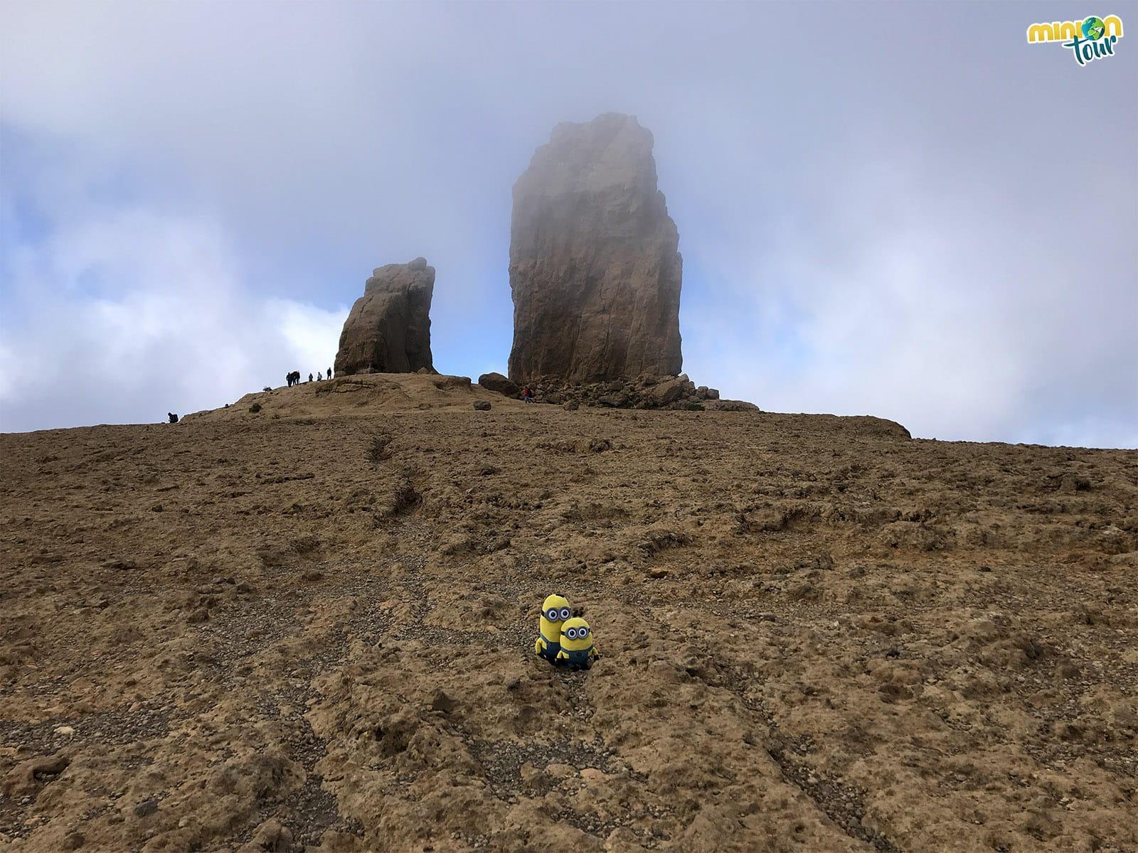 El Roque Nublo y La Rana