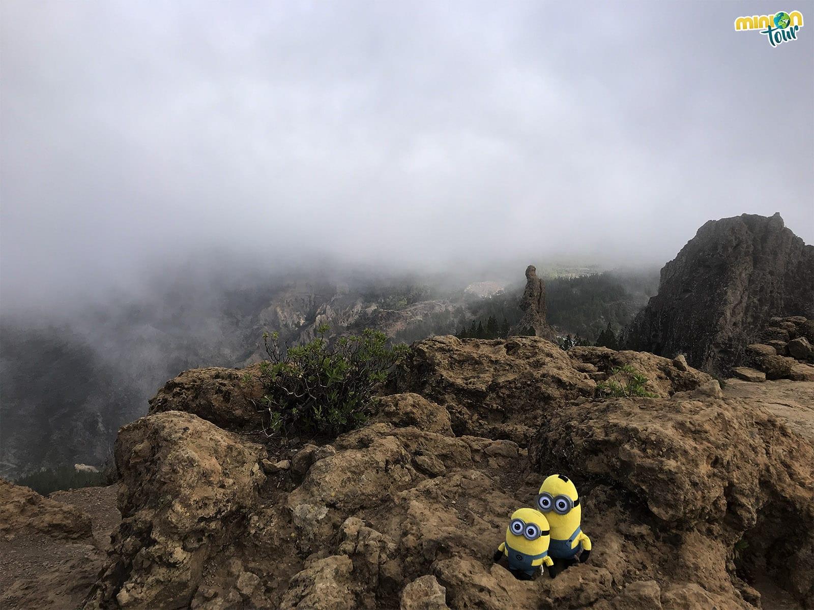 2 Minions rodeados de niebla