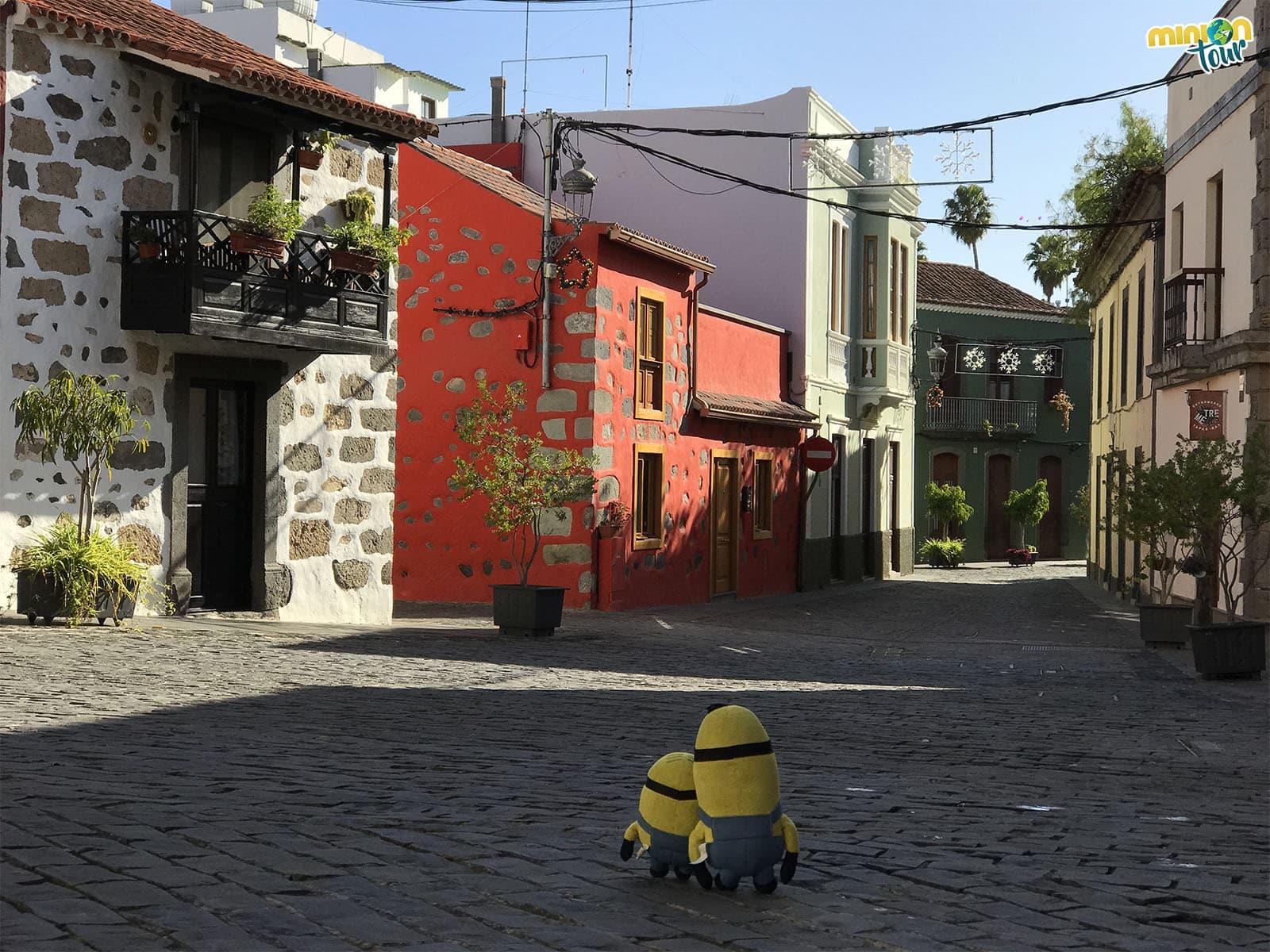 Casas de colores en Santa Brígida