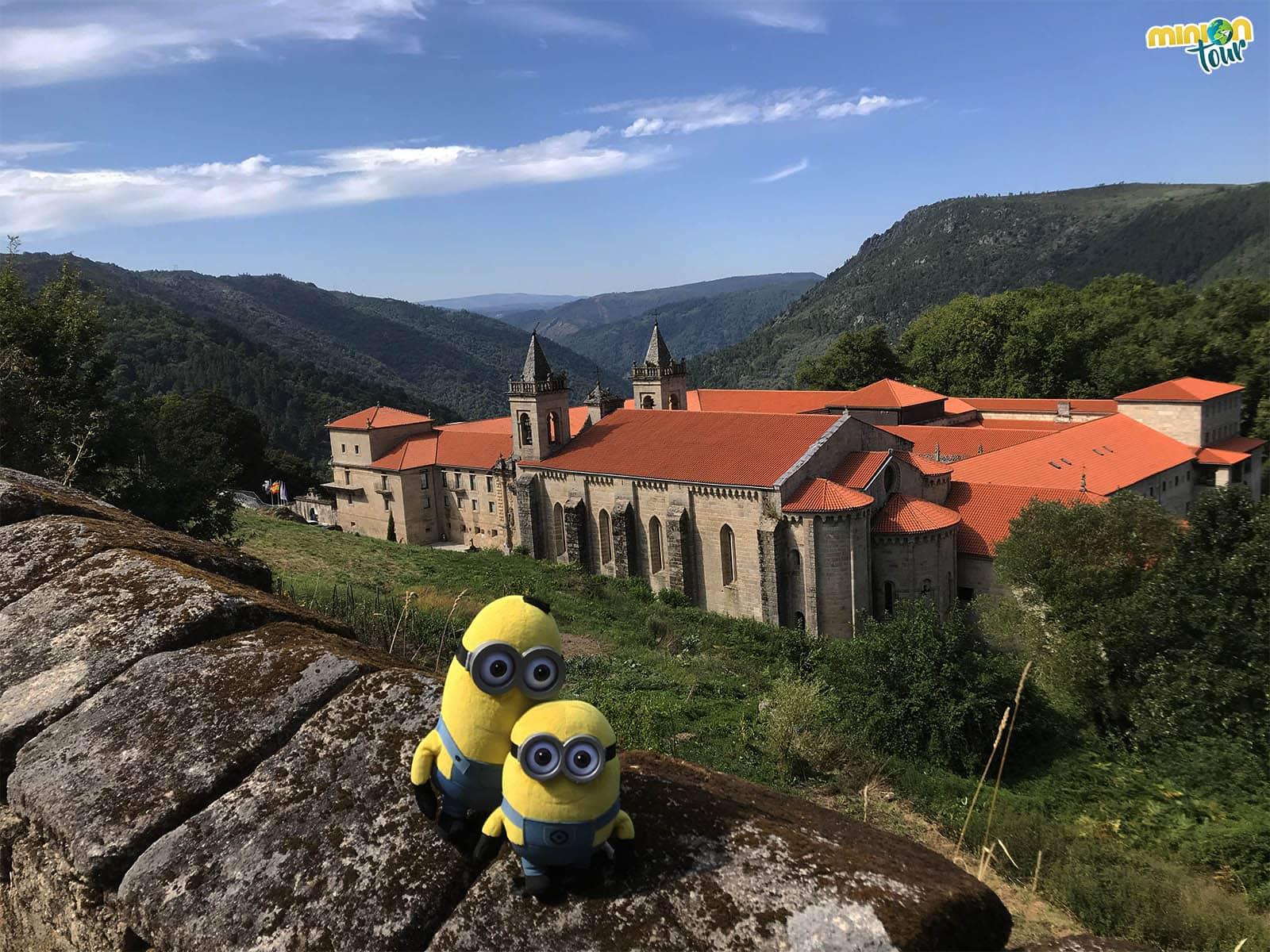 Vista del monasterio desde las alturas