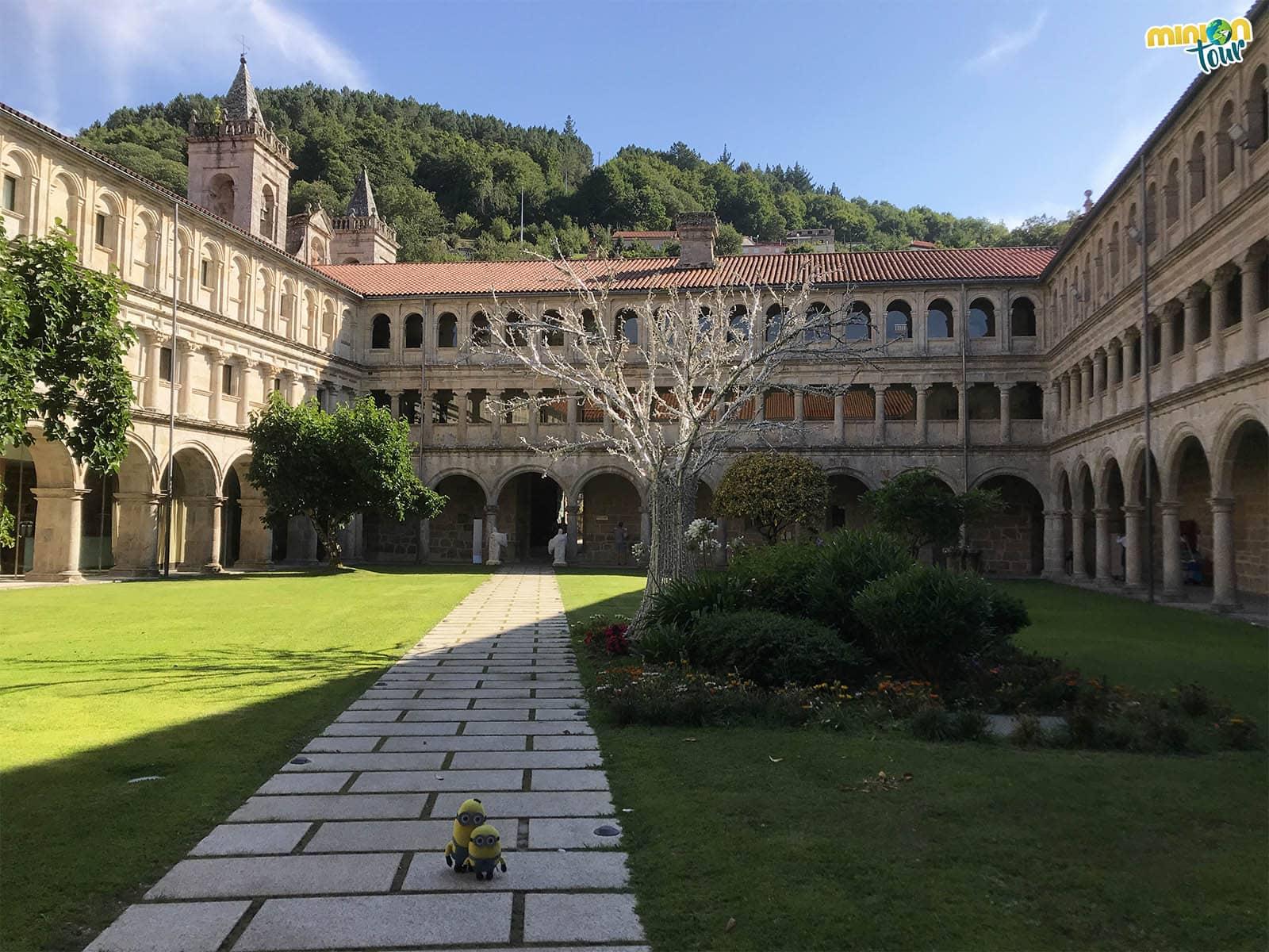 Este monasterio es una pasada