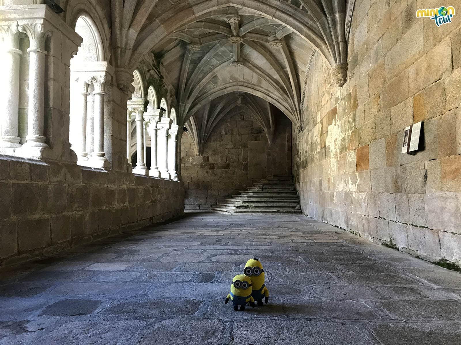 El Claustro de los 9 Obispos del Monasterio de Santo Estevo de Ribas de Sil