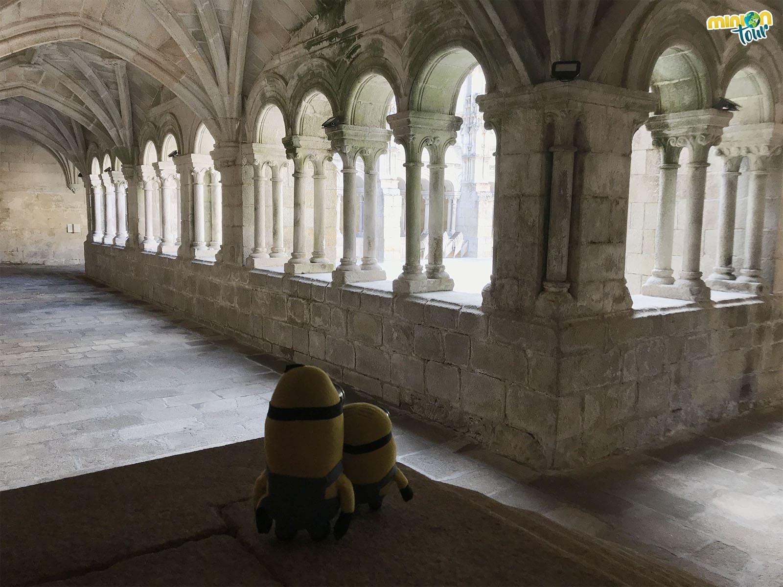 Admirando el Claustro de los 9 Obispos