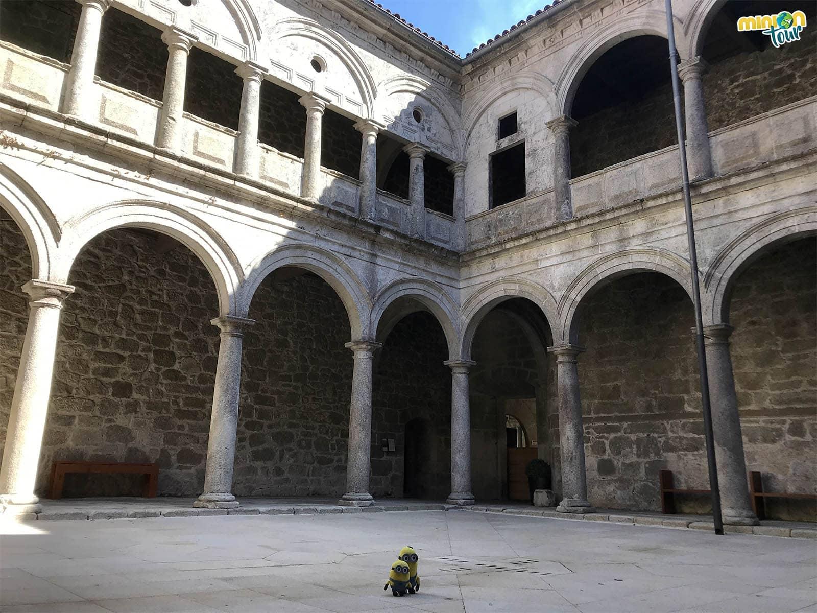 Claustro Pequeño del Monasterio de Santo Estevo de Ribas de Sil