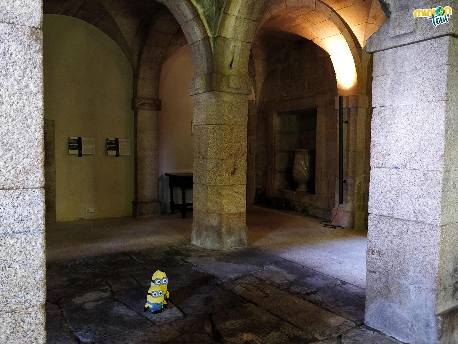 La antigua cocina del monasterio