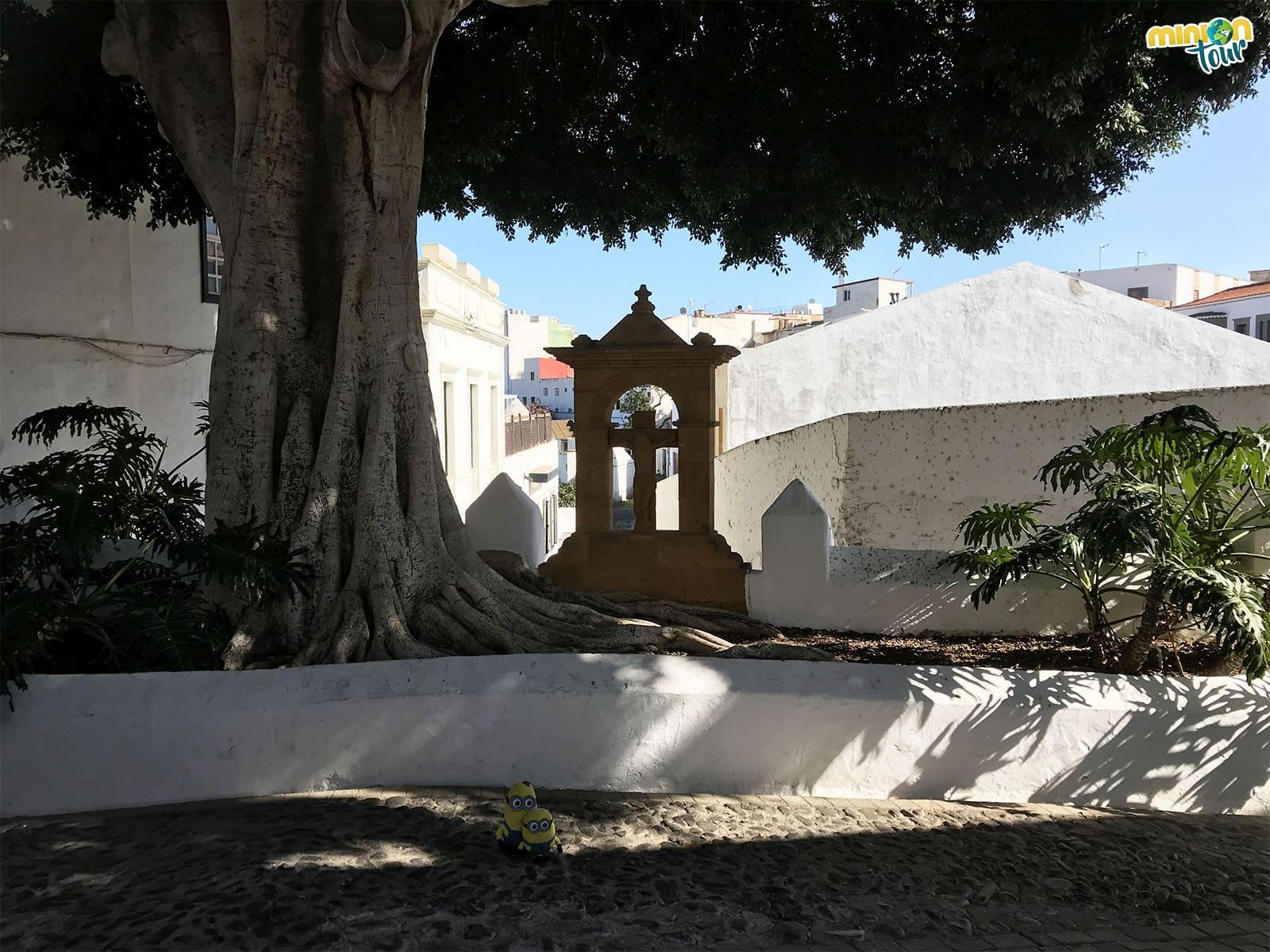 Altar en Telde, en el Barrio de San Francisco