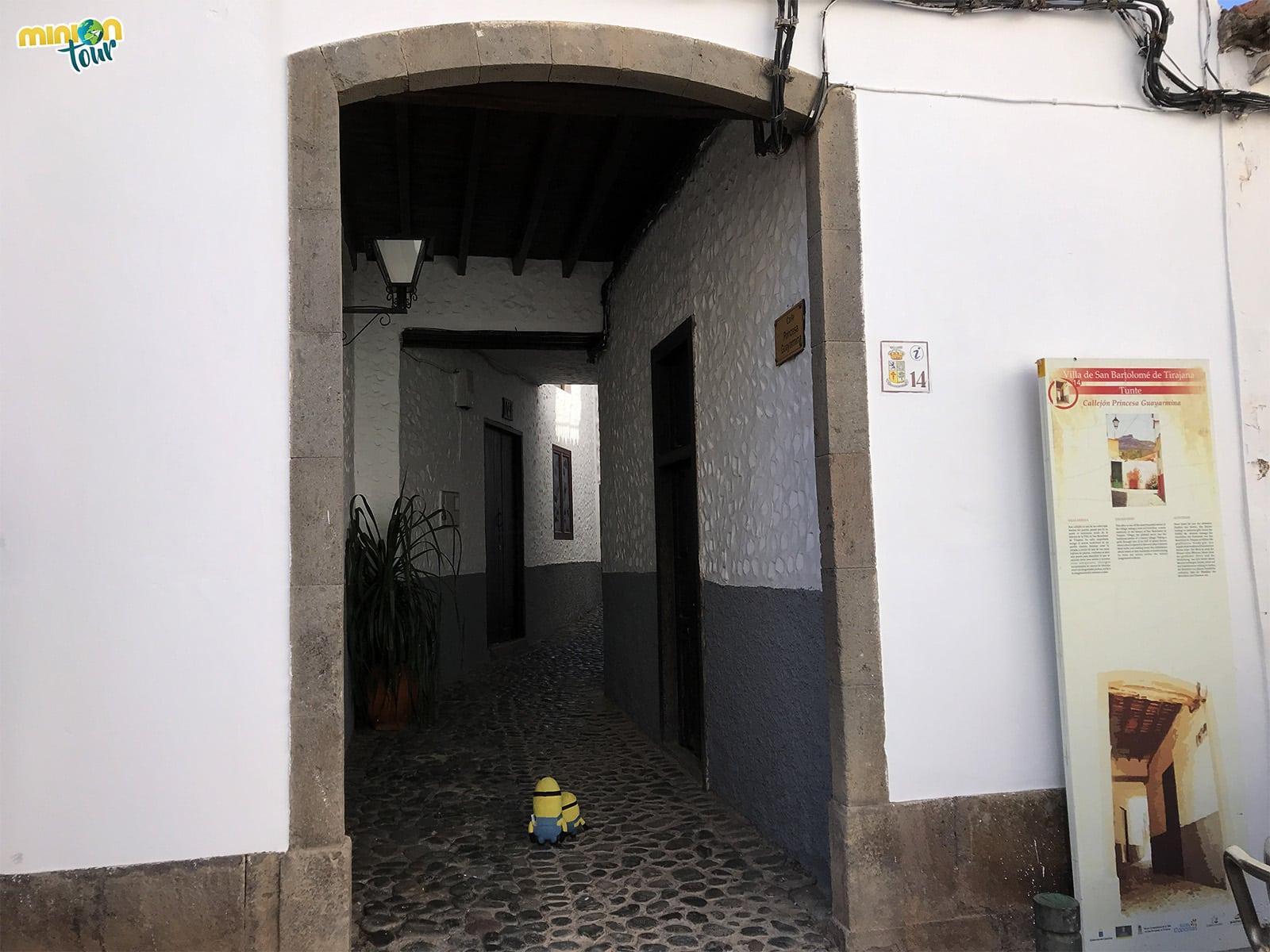 Calle de Tunte, uno de los sitios que ver en San Bartolomé de Tirajana