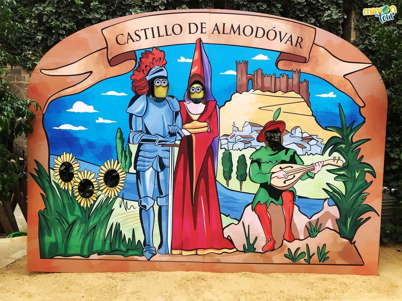 El photocall del Castillo de Almodóvar del Río