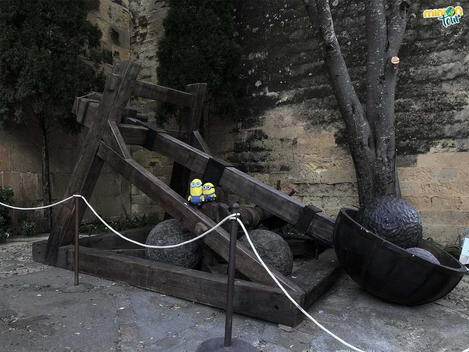 Catapulta del Castillo de Almodóvar del Río