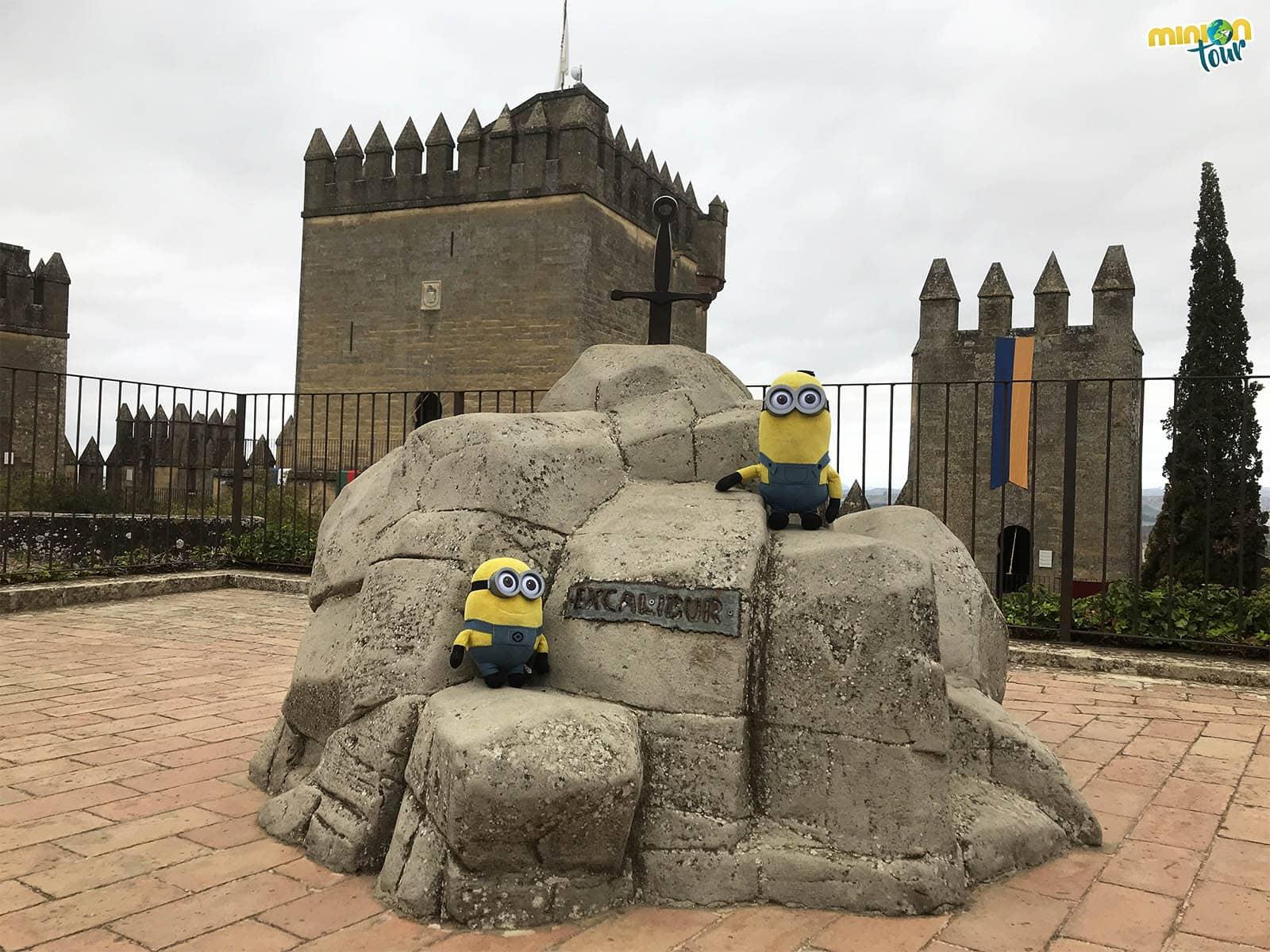 Excálibur en el Castillo de Almodóvar del Río