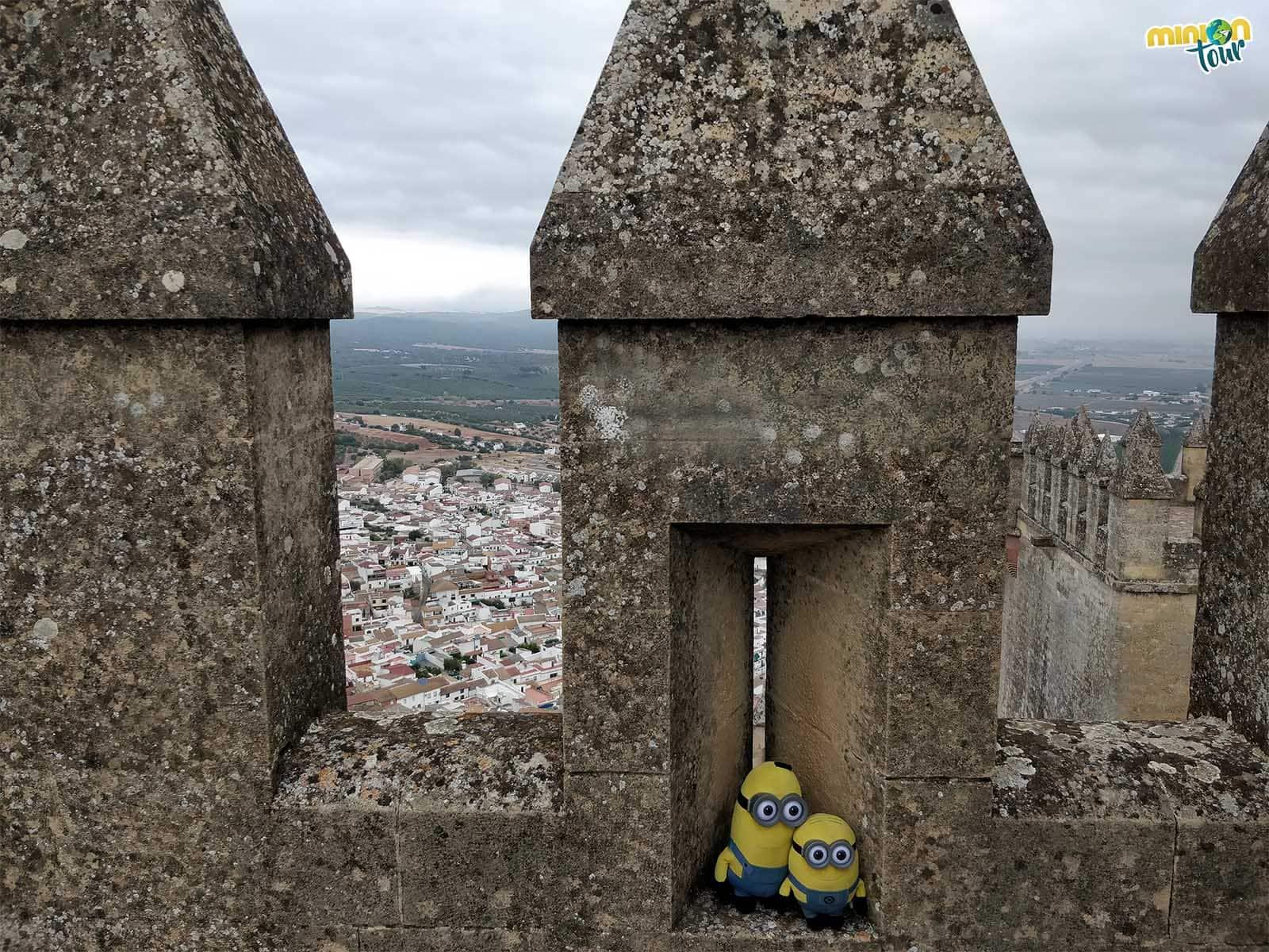 Las almenas del Castillo de Almodóvar del Río