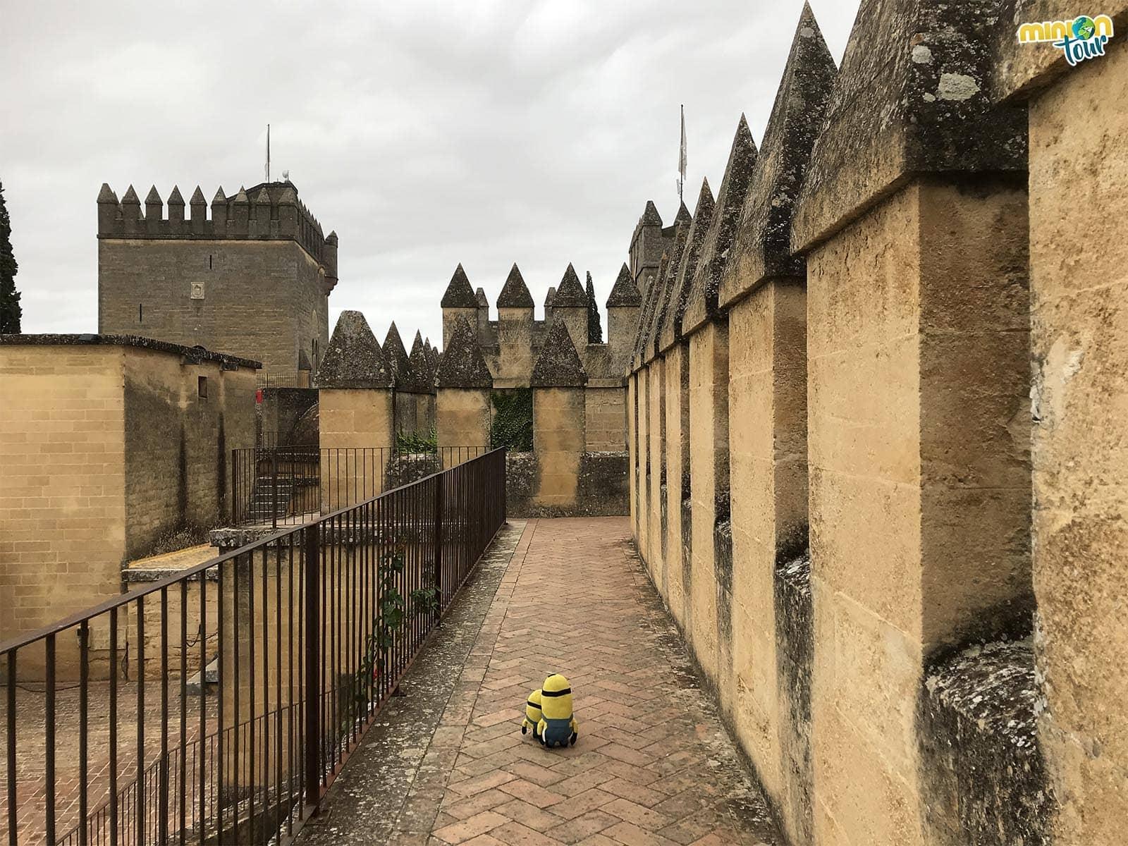 Las almenas, otra parada en nuestra ruta por los escenarios de Juego de Tronos en el Castillo de Almodóvar