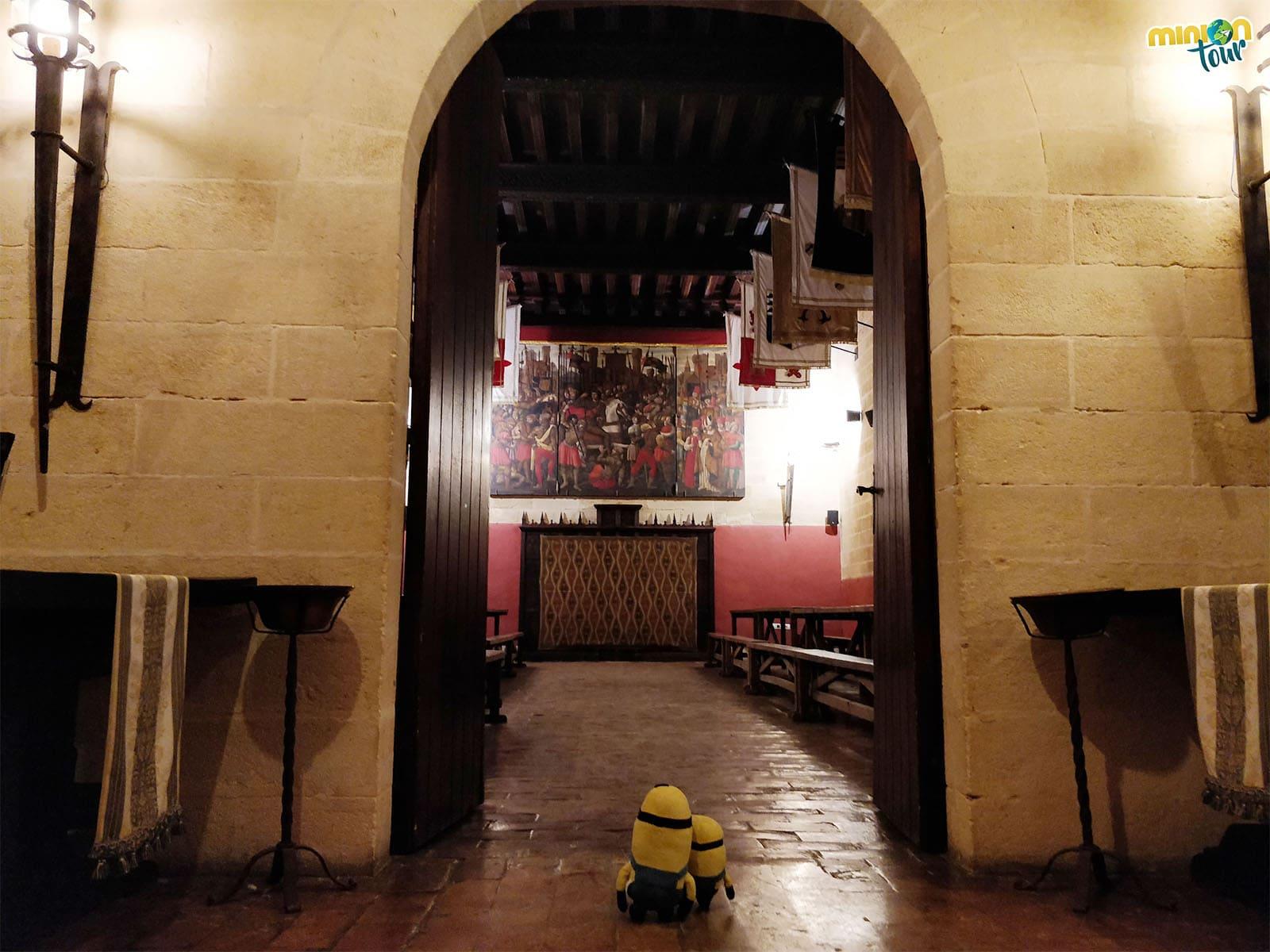 Salón medieval del Castillo de Almodóvar