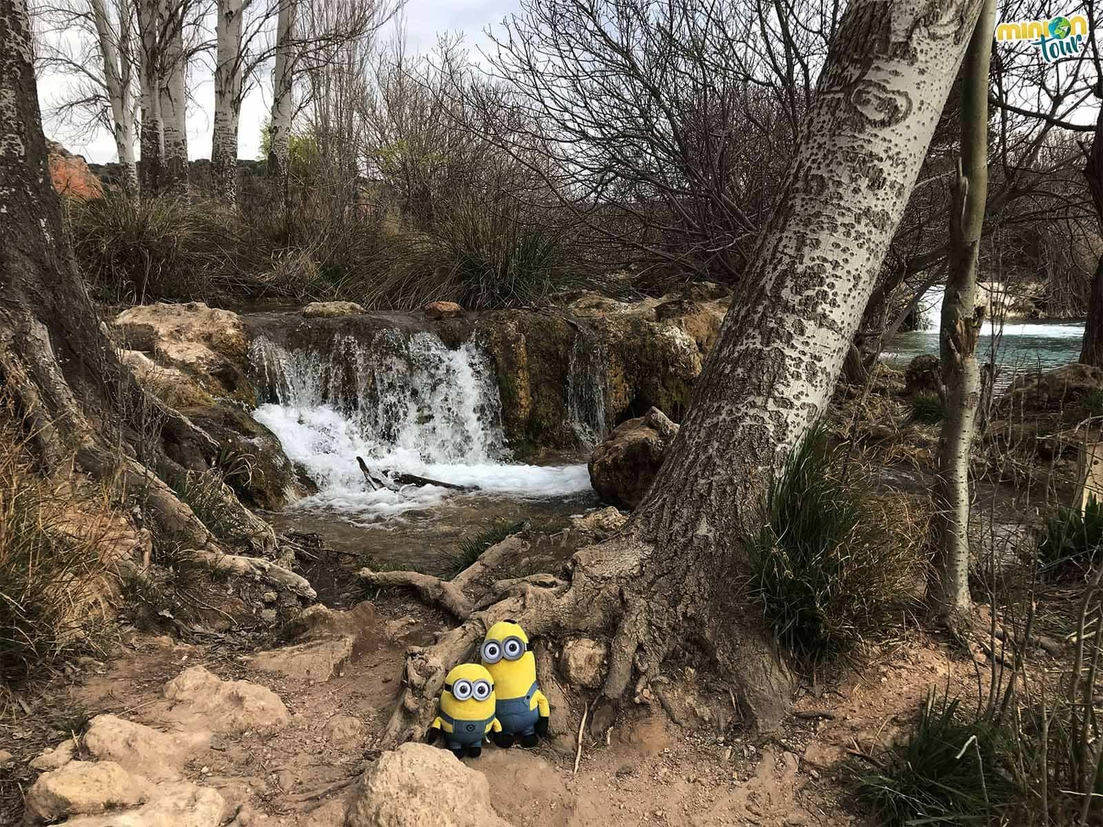 Más cascadas en las Lagunas de Ruidera