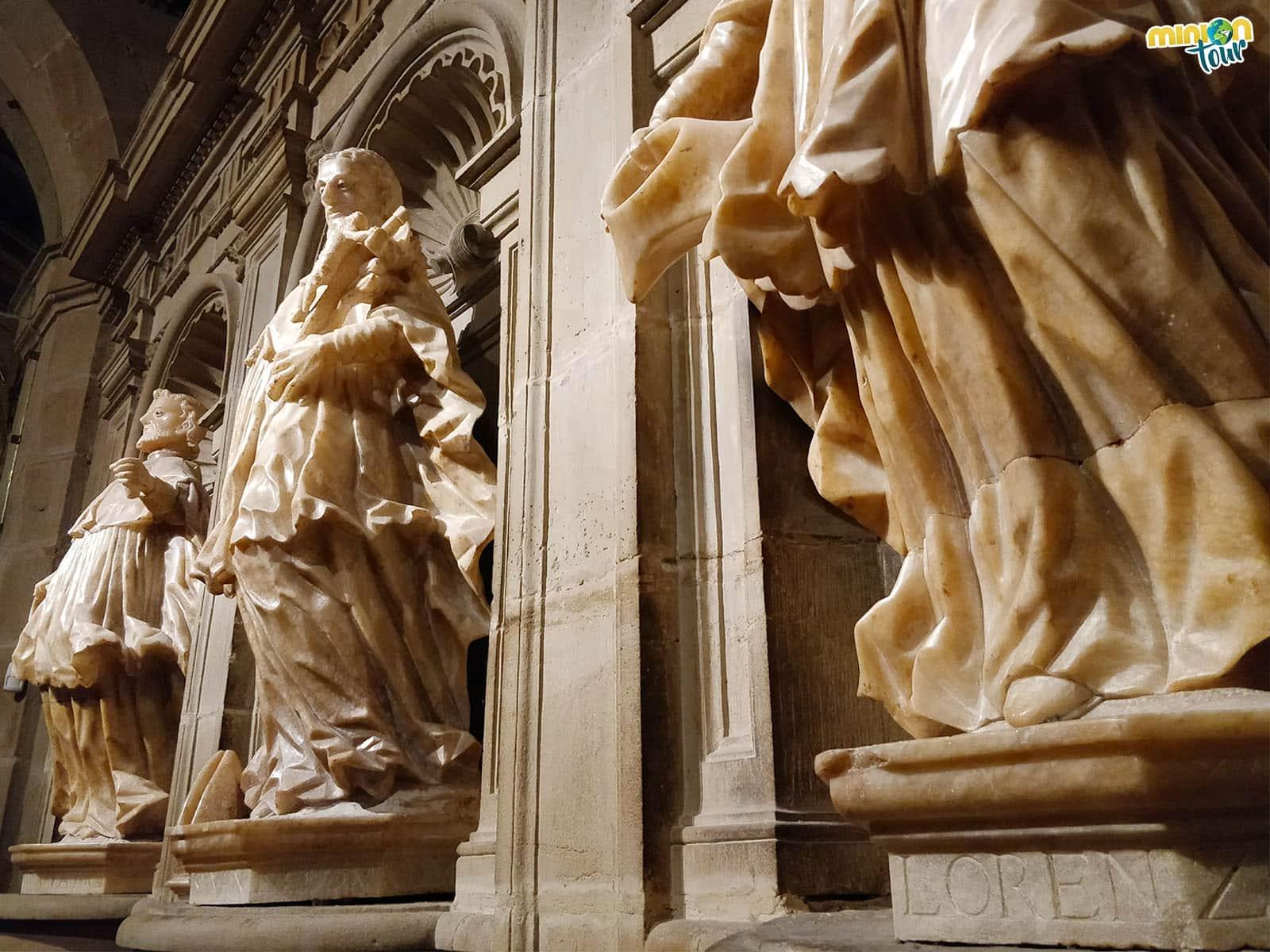 Detalle de la Concatedral de Logroño