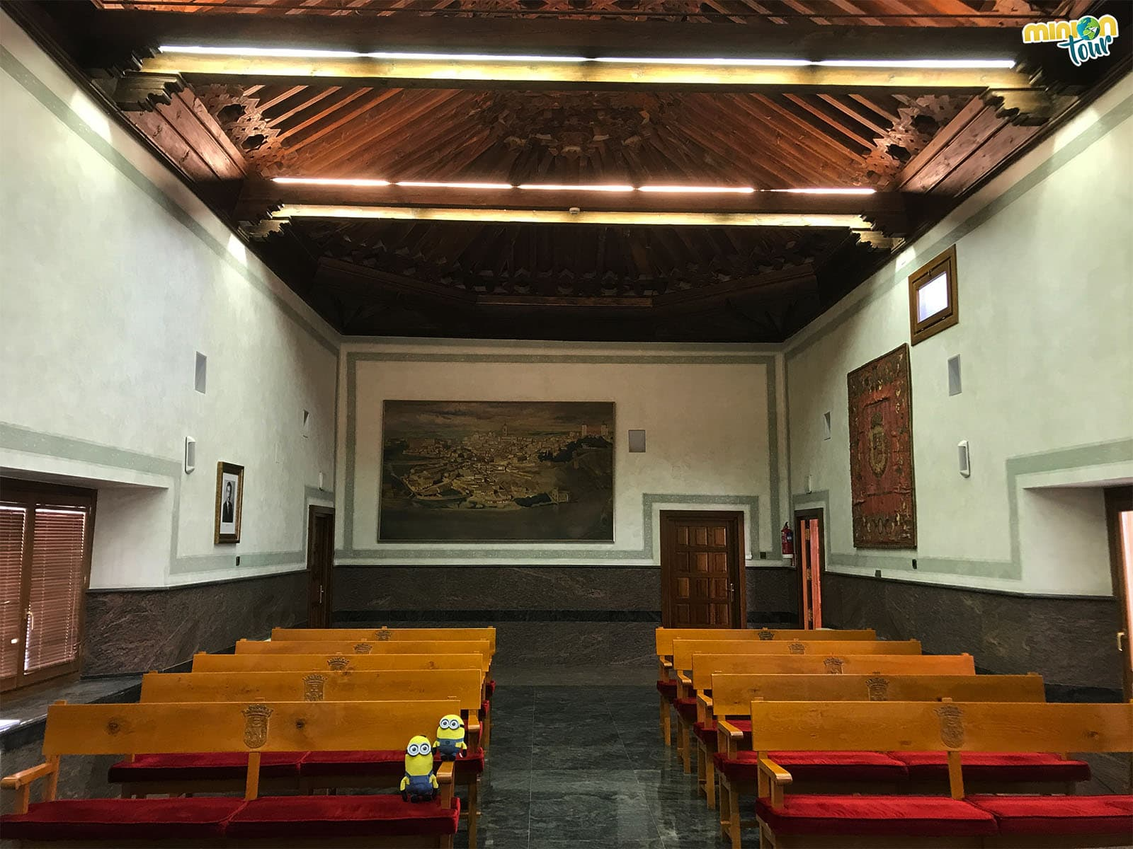 La Sala Capitular del Palacio de Pedro