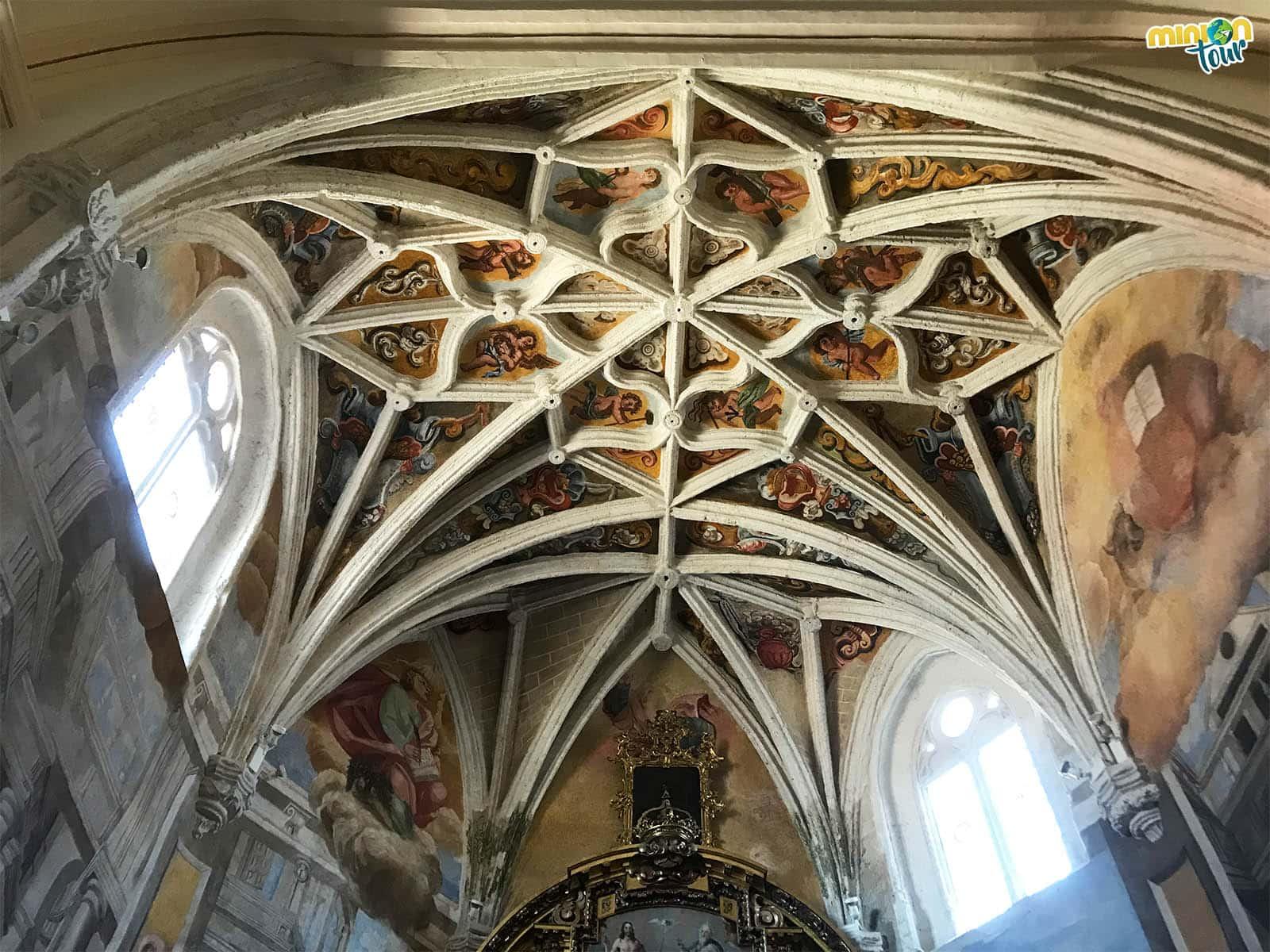 Flipando con los frescos de la Capilla del Santísimo Cristo de la Sangre
