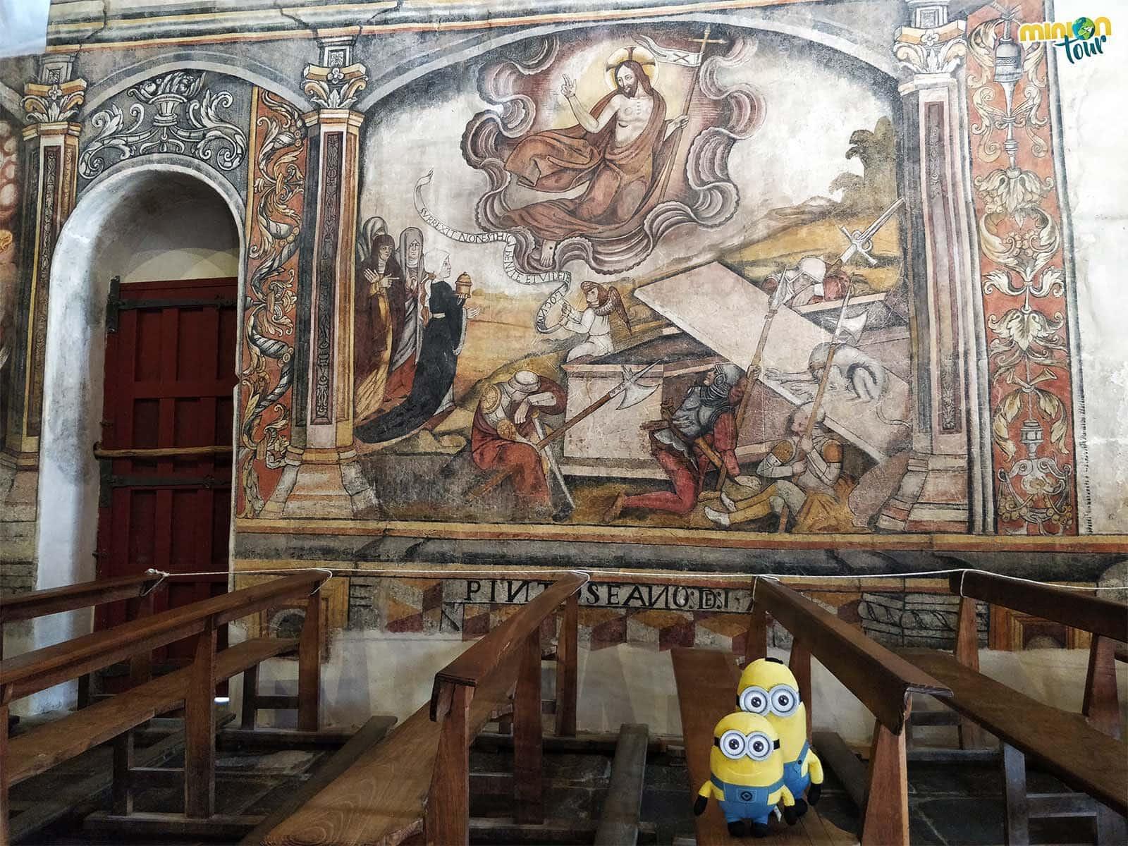 La Resurrección en las pinturas murales de Santa María de Nogueira
