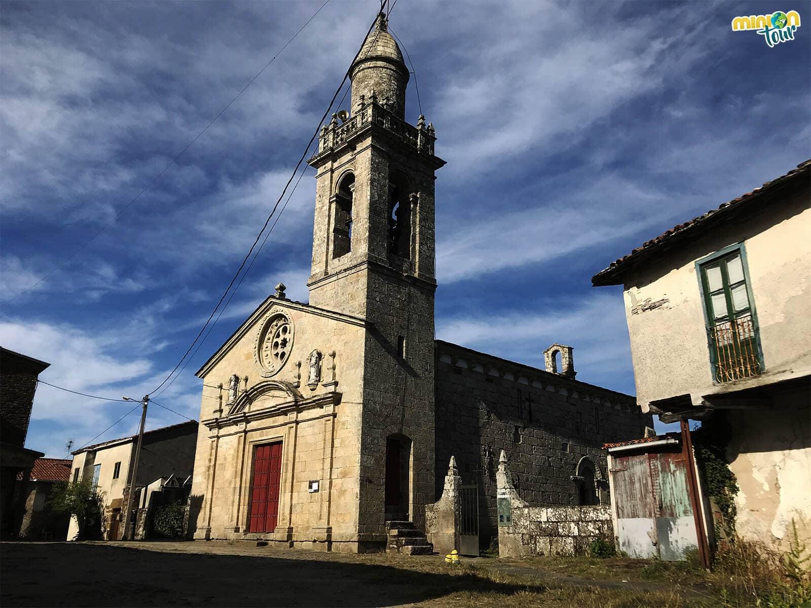 La Iglesia de Santa María de Nogueira de Miño