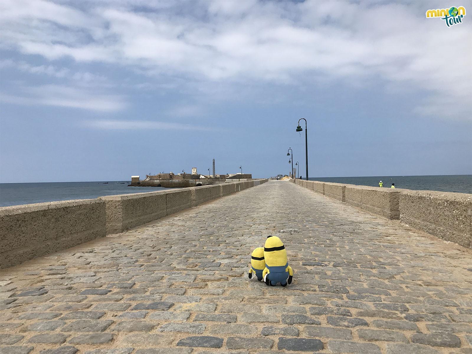 En nada llegamos al Castillo de San Sebastián