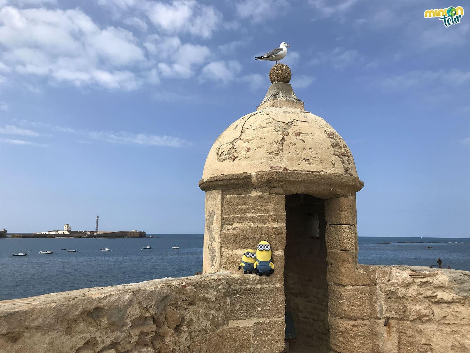 MiniOnTour en el Castillo de Santa Catalina en Cádiz