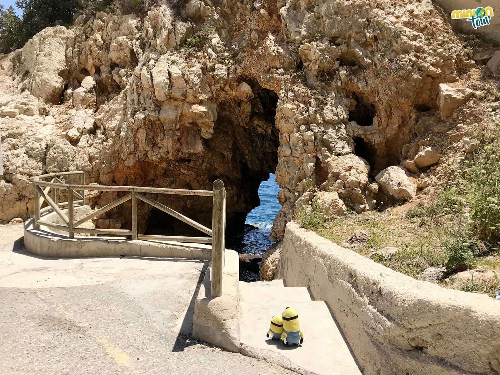 Cova dels Arcs en El Poble Nou de Benitatxell