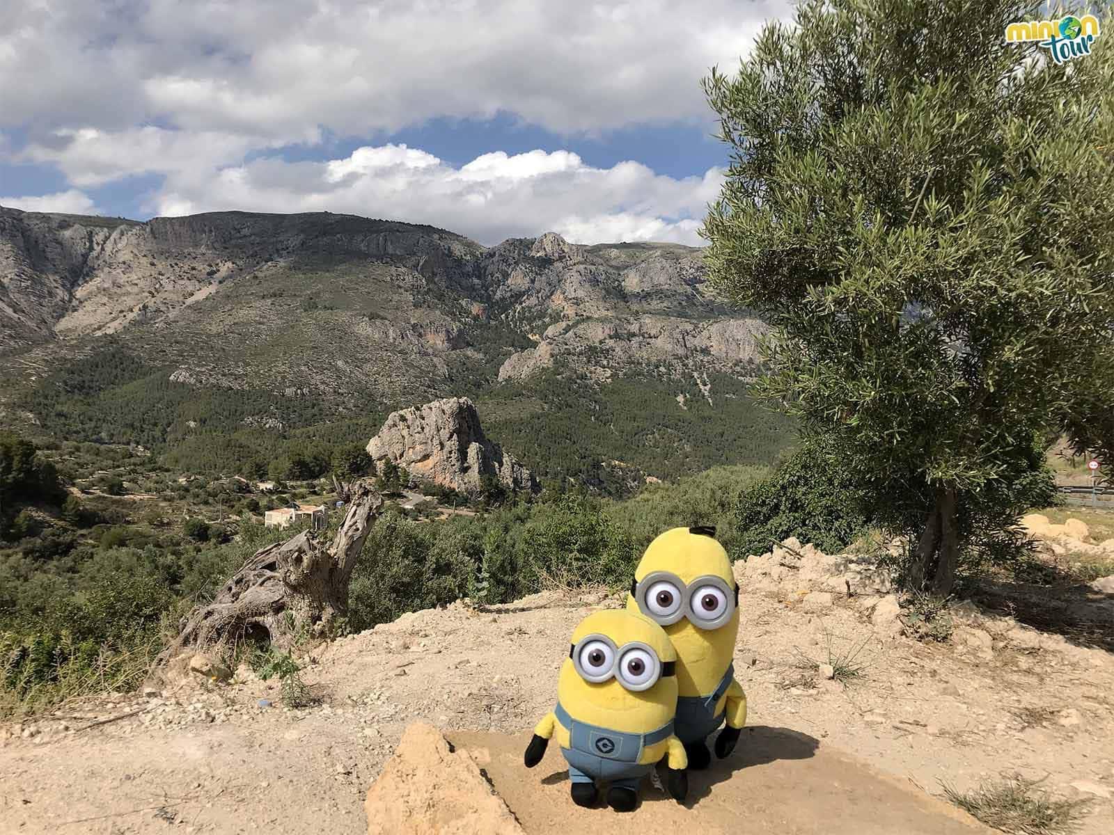 Los paisajes de Guadalest son impresionantes