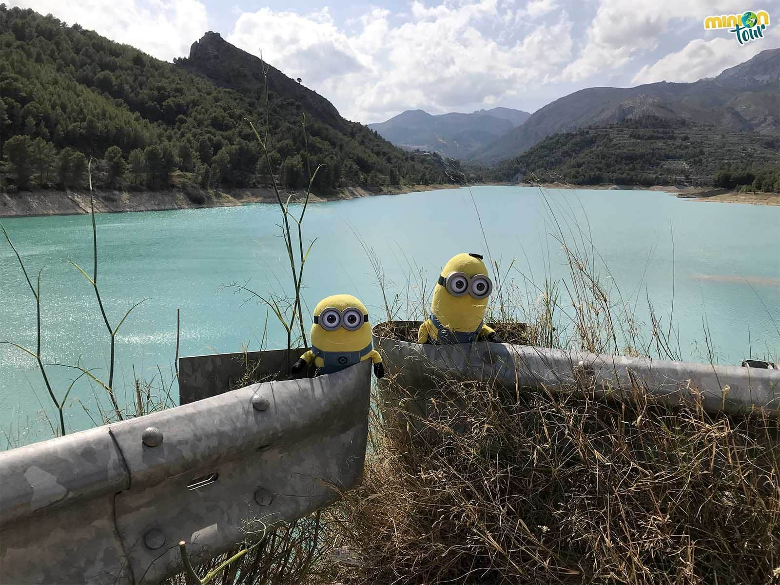 El pantano es otra de las cosas que ver en Guadalest en un día