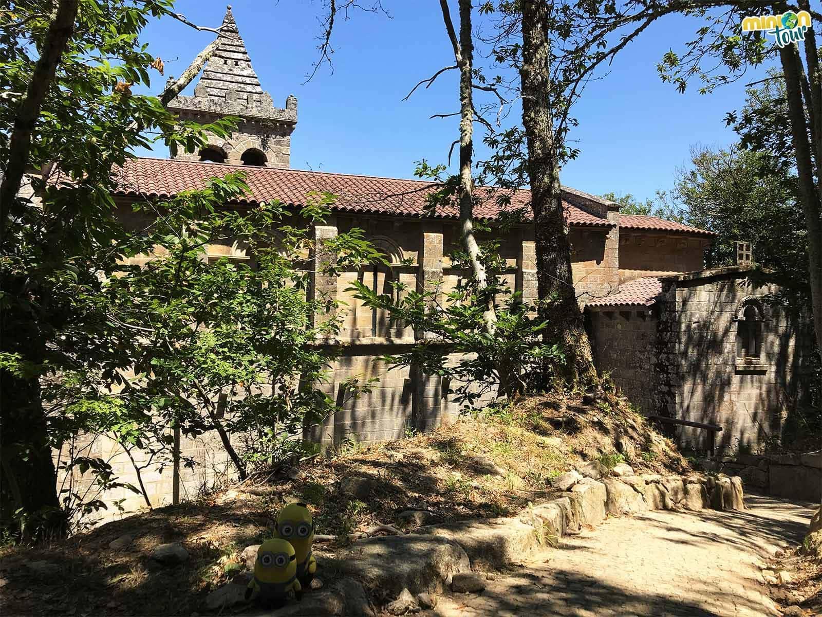 La torre de este monasterio es una pasada