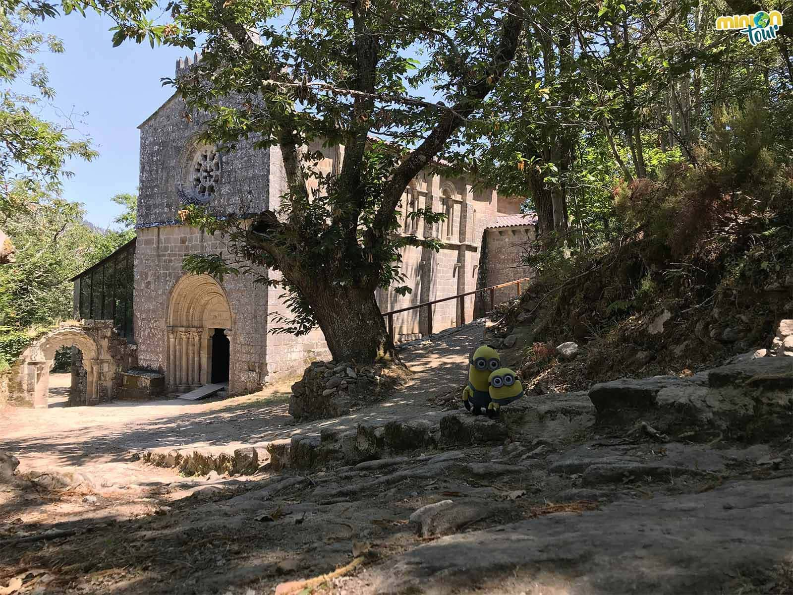 Visita al Monasterio de Santa Cristina de Ribas de Sil en Parada de Sil