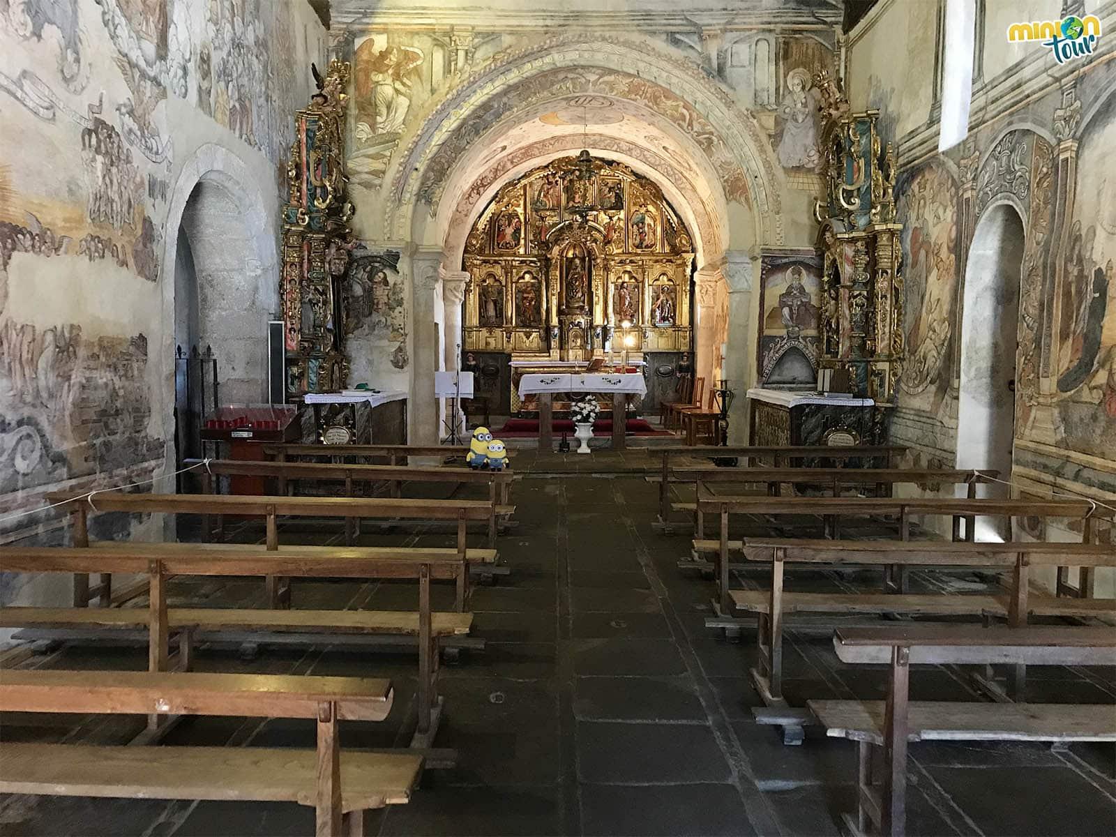 Santa María de Nogueira de Miño, la Capilla Sixtina de la Ribeira Sacra