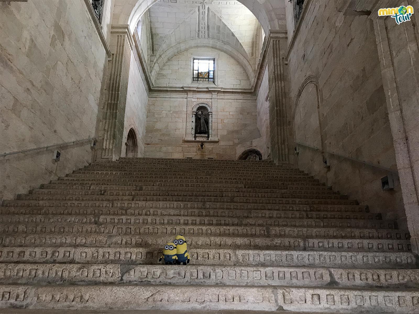 Alucinando con la Escalera de Honor del Monasterio de Oseira