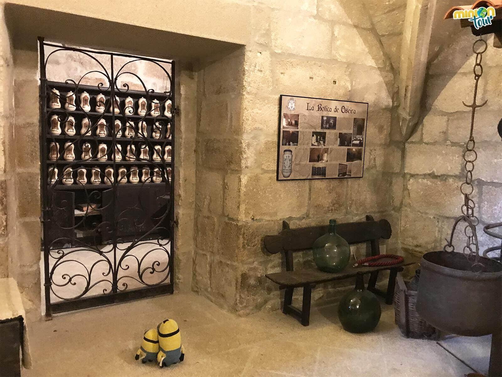 Visitamos la botica del Monasterio de Oseira