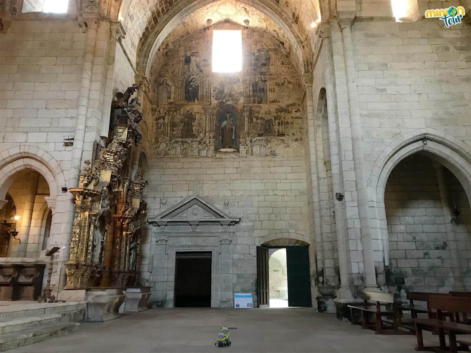 Alucinando con las pinturas de la Iglesia del Monasterio de Oseira