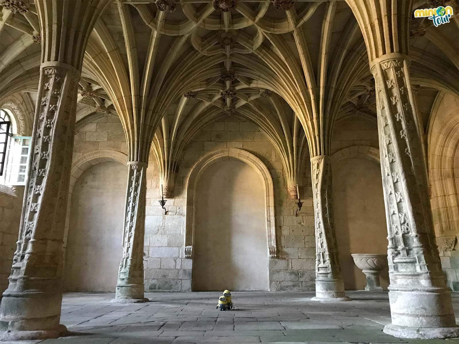 Flipando con la Sala Capitular del Monasterio de Oseira
