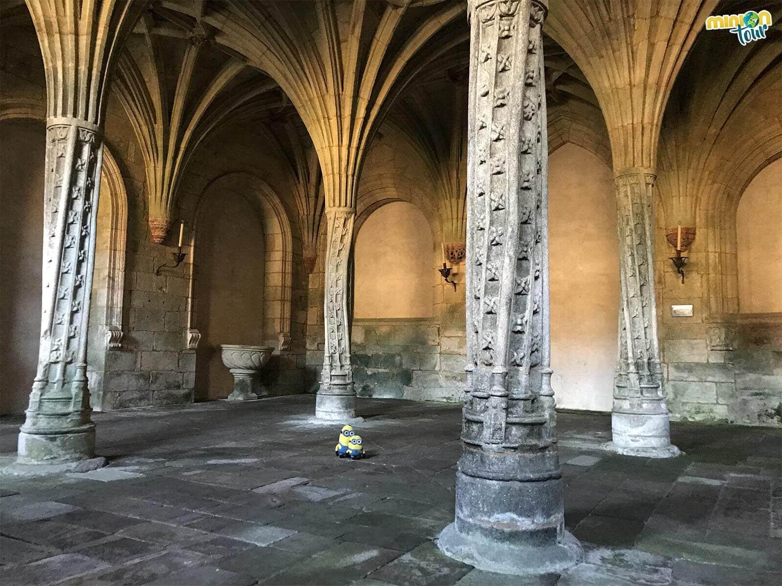 Flipando con la Sala de las Palmeras del Monasterio de Oseira