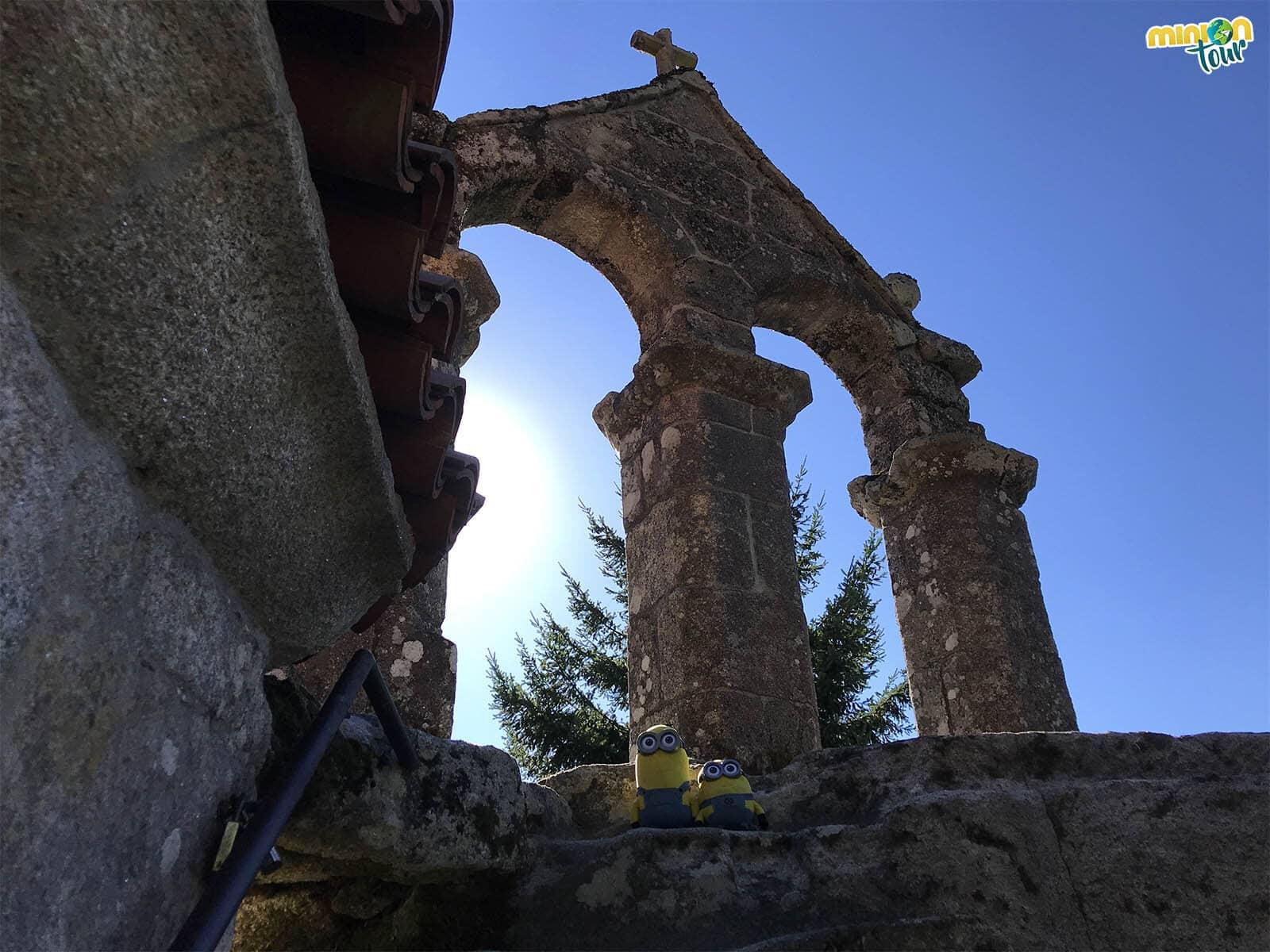 Nos hemos subido hasta el campanario de San Pedro de Rocas