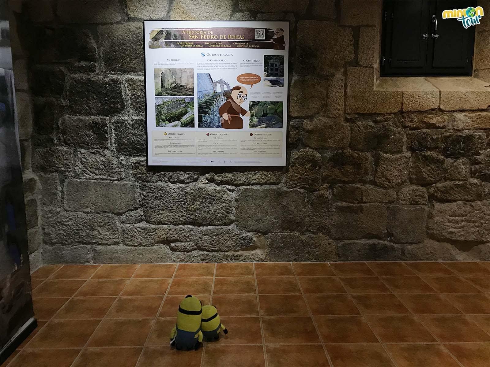 Visitando el Centro de Interpretación de la Ribeira Sacra con Fray Bieito